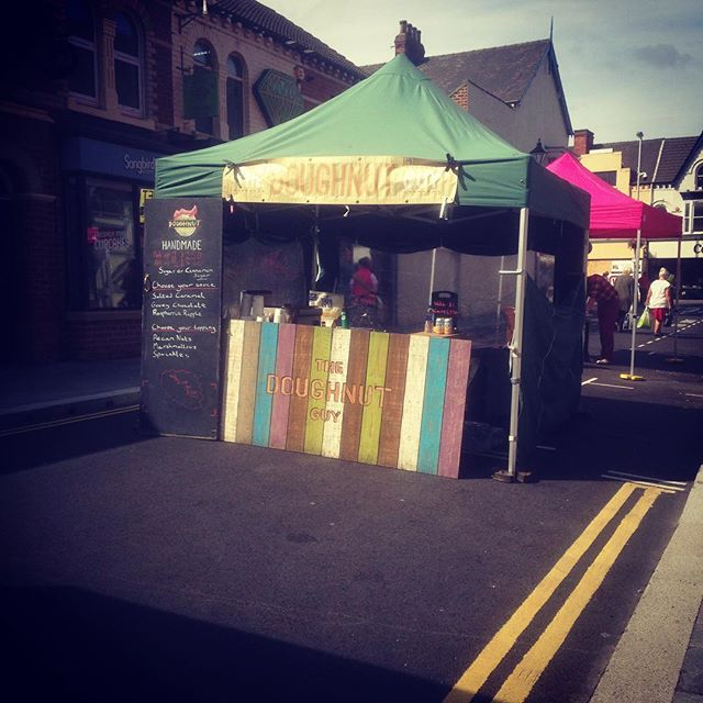 Nothing rhymes with #orangepipmarket #doughnuts #donuts #middlesbrough #food #sunny #summer #handmade
