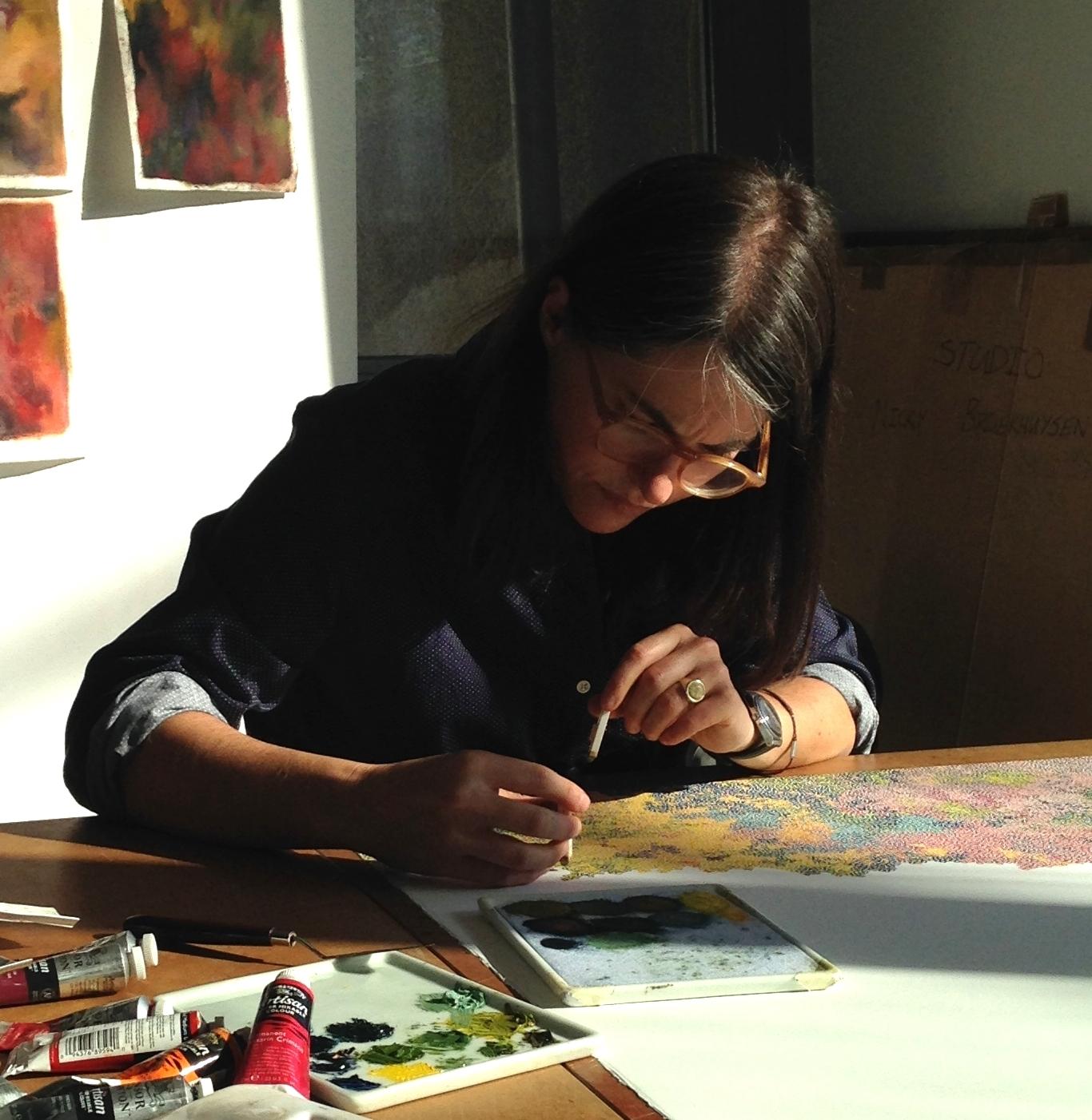 Nicola stamping.JPG