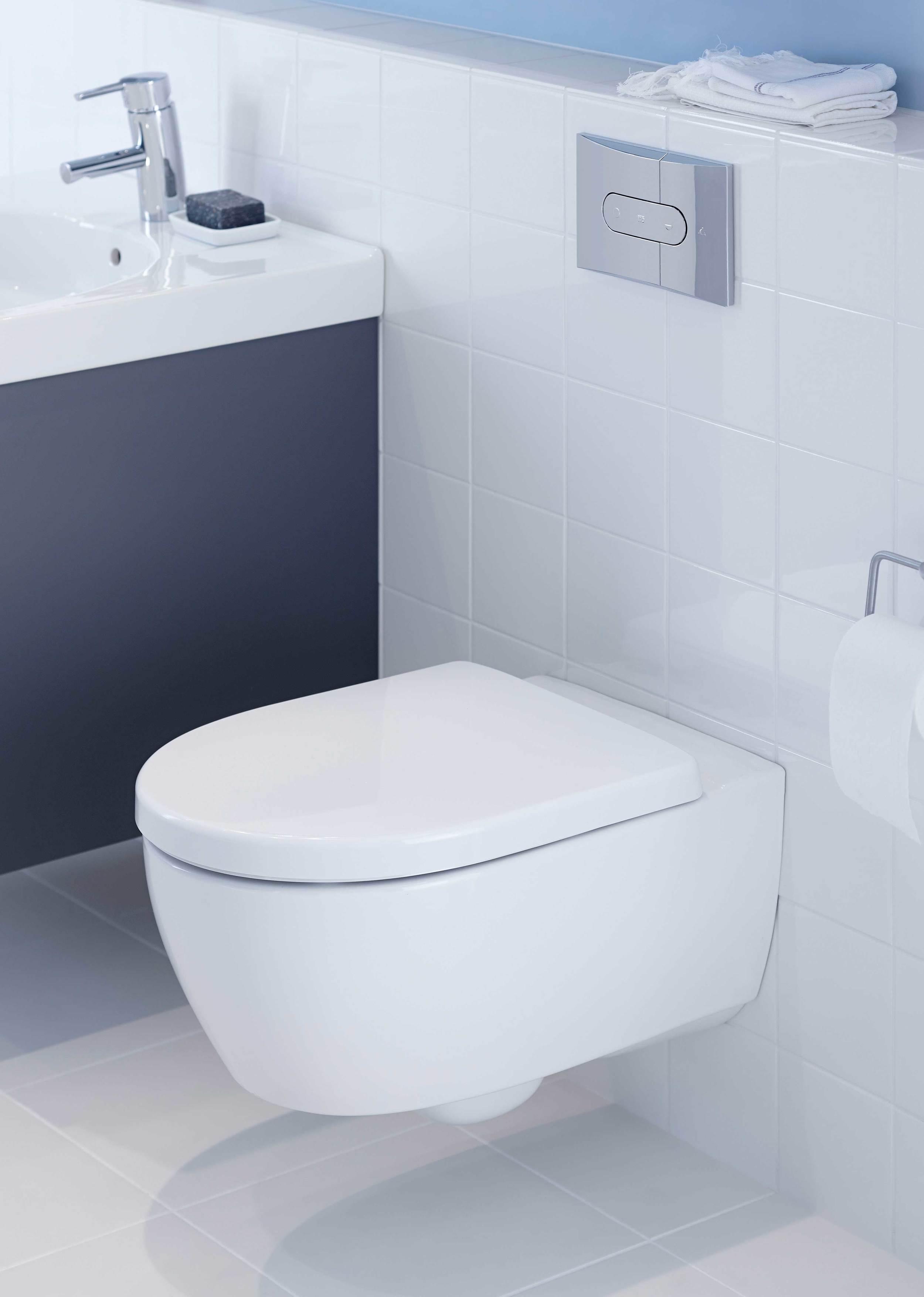 Vask og toilet