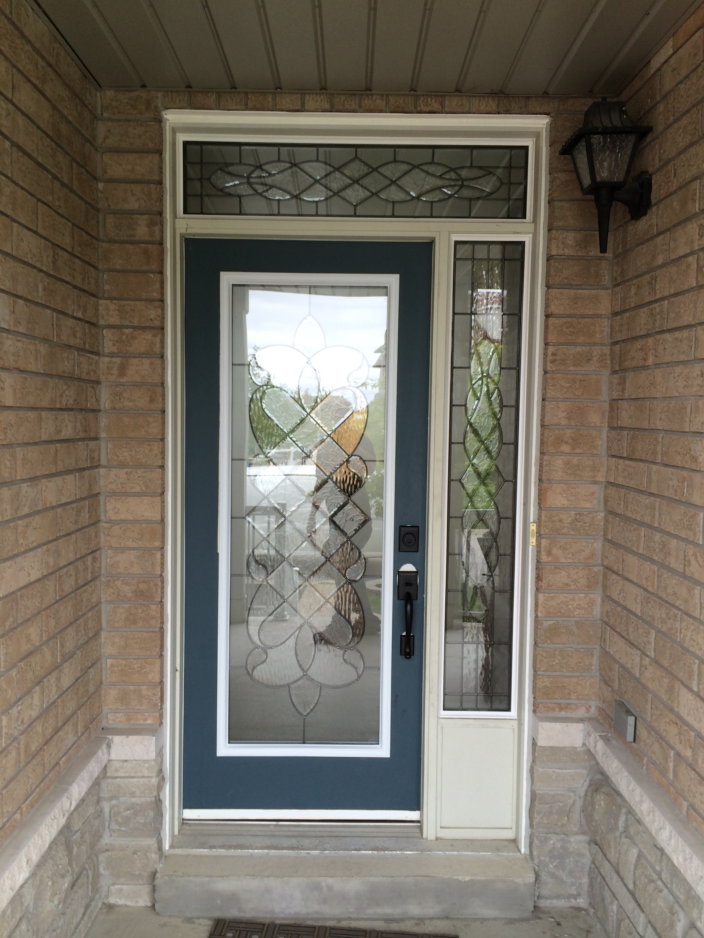Middlesborough-Decorative-Glass-Door-Insert-Installtion