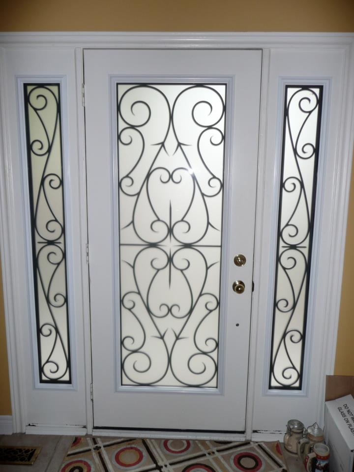 Bristol-Wrought-iron-Glass-Door-Inserts-Pickering-Ontario