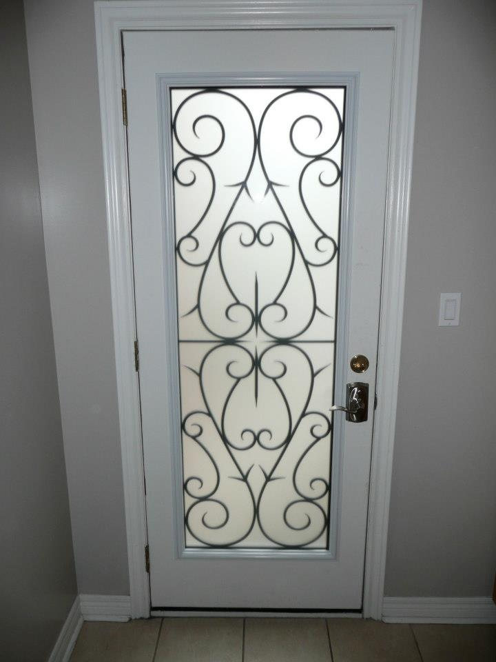 Bristol-Wrought-iron-Glass-Door-Inserts-Oshawa-Ontario
