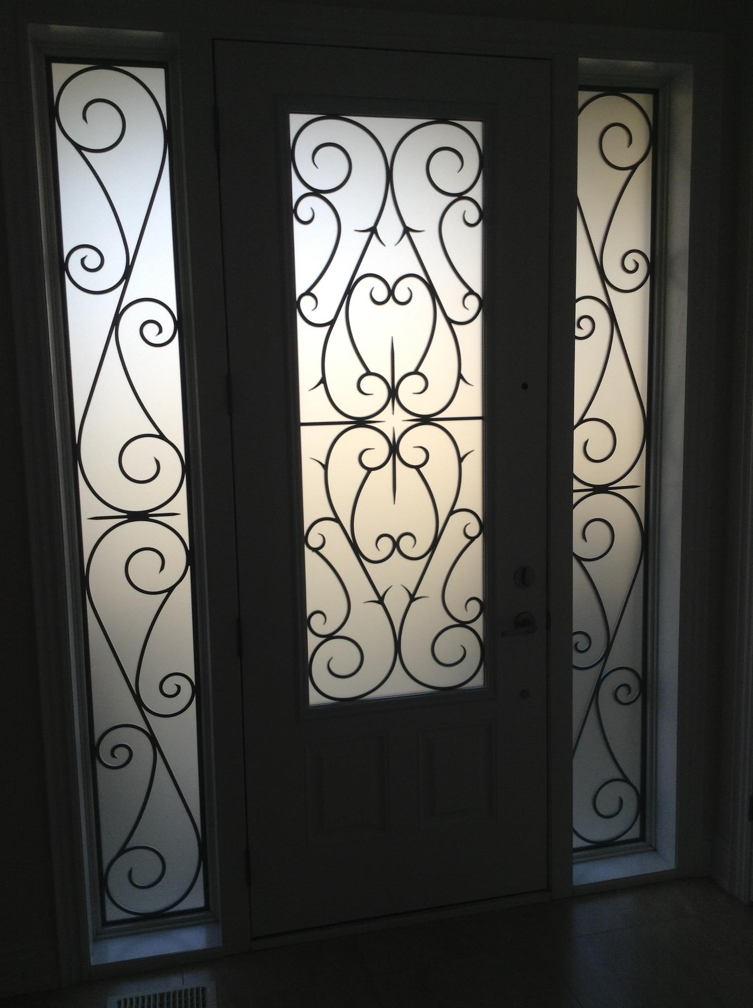 Bristol-Wrought-iron-Glass-Door-Inserts-Orillia-Ontario