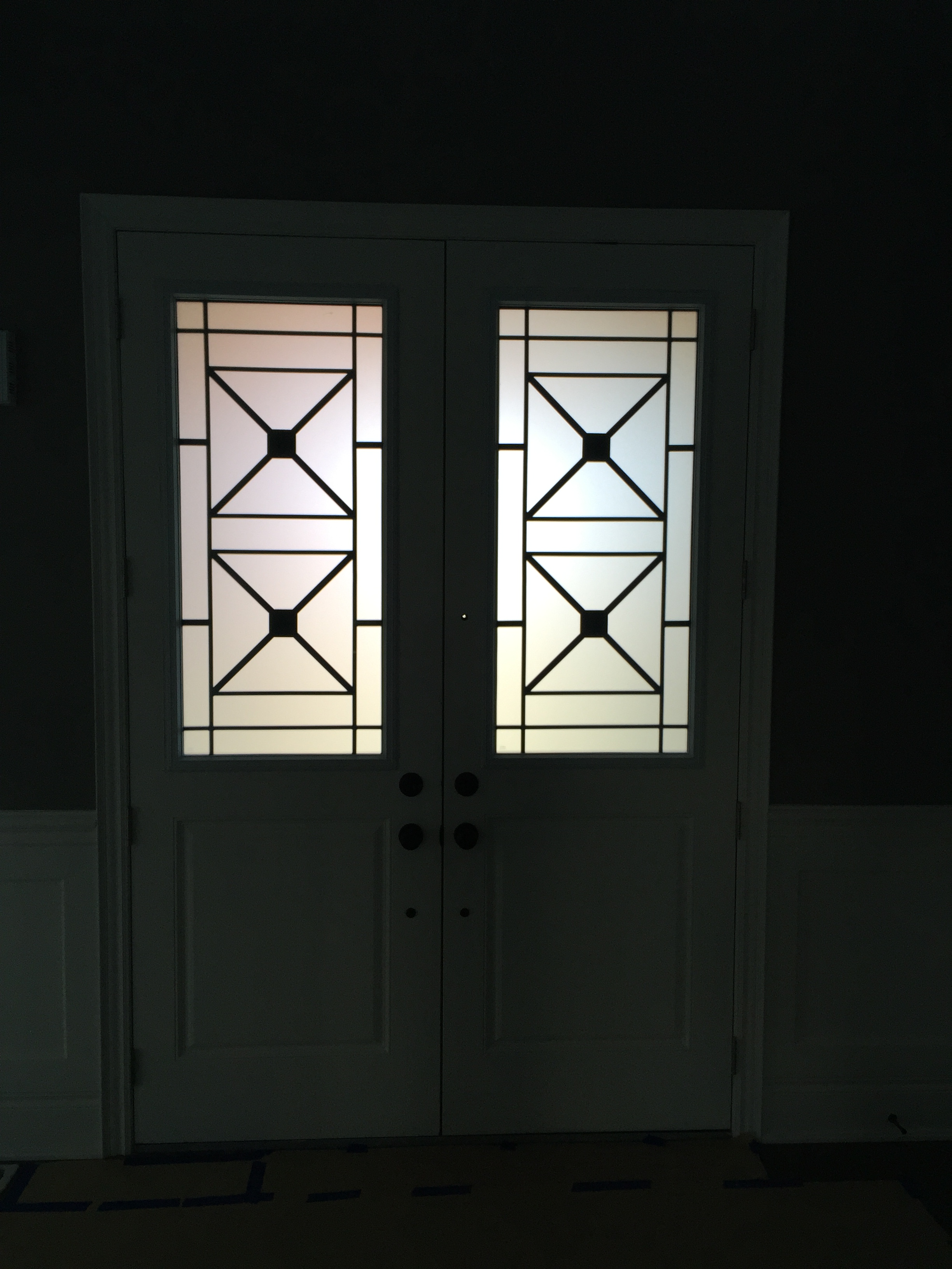 Century-Wrought-Iron-Glass-Door-Inserts-Brampton-Ontario