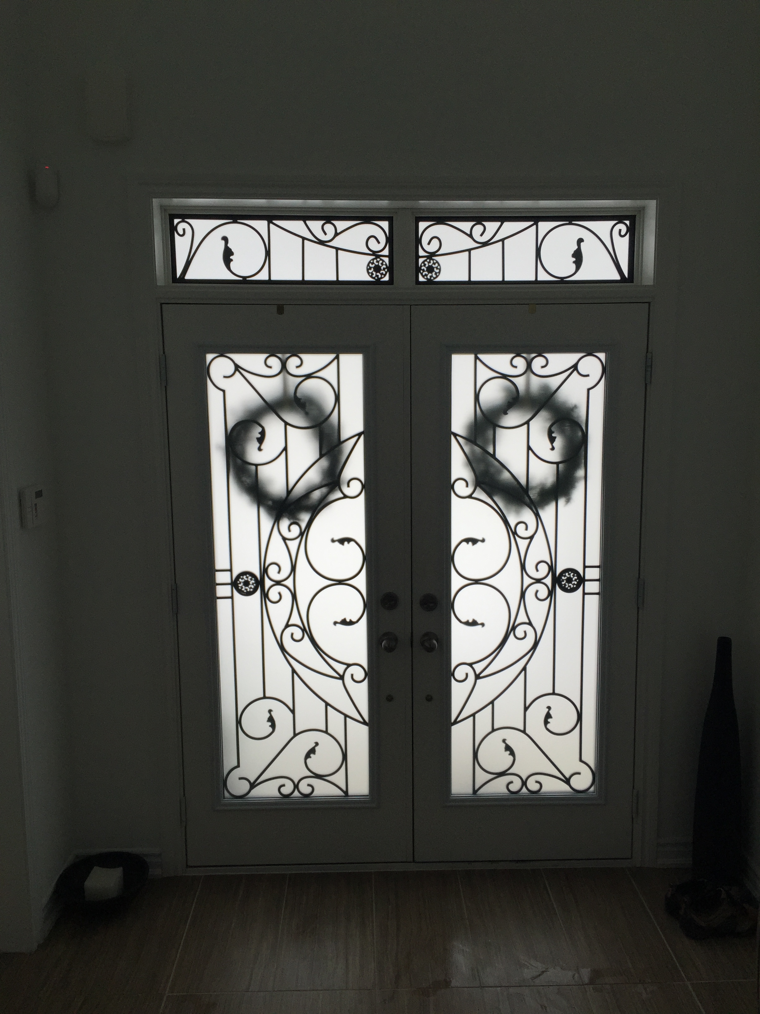 Rochester-Wrought-Iron-Glass-Door-Inserts-Mount-Albert-Ontario