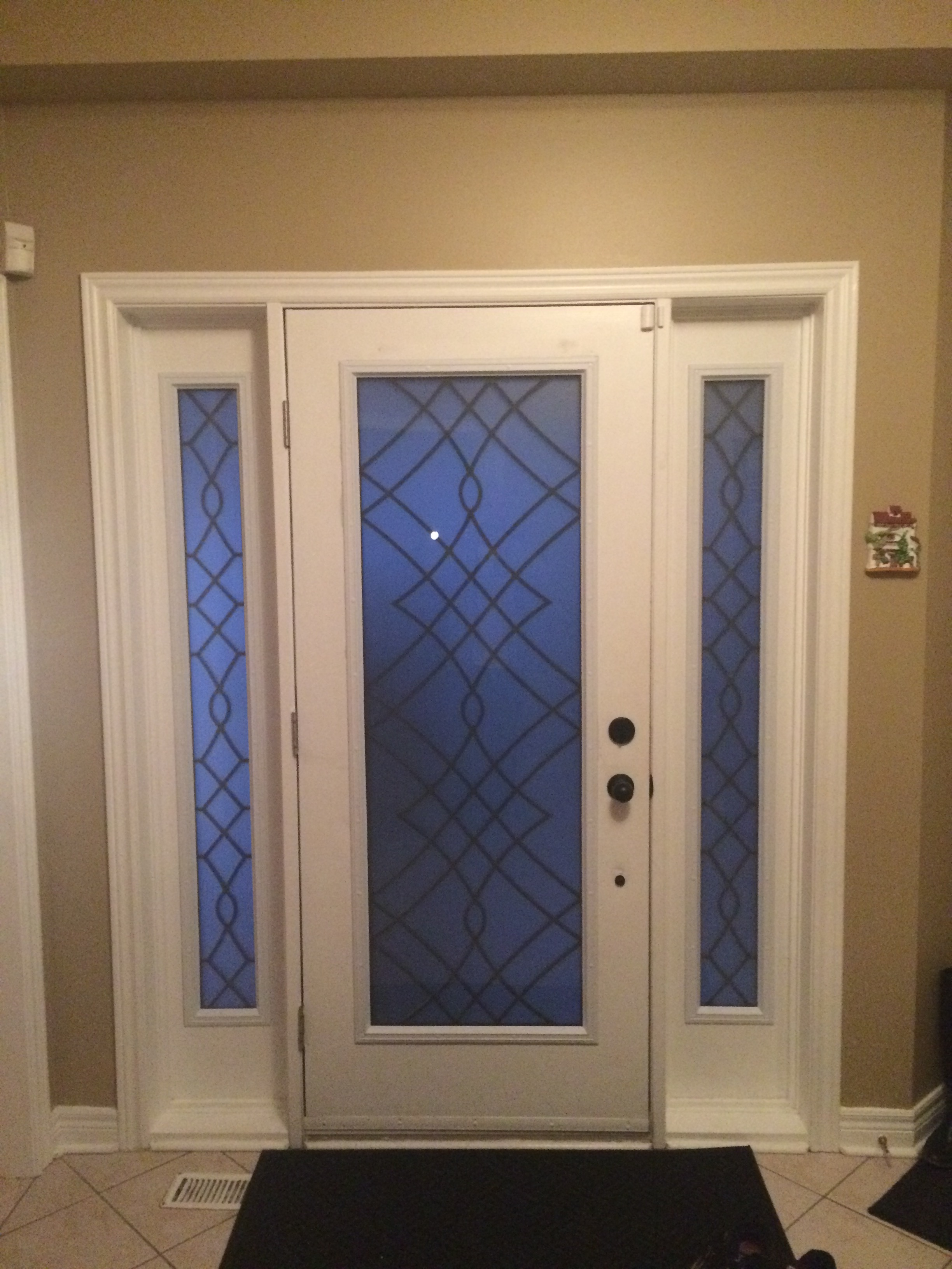 Oakridge-Wrought-Iron-Glass-Door-Inserts-Milton-Ontario