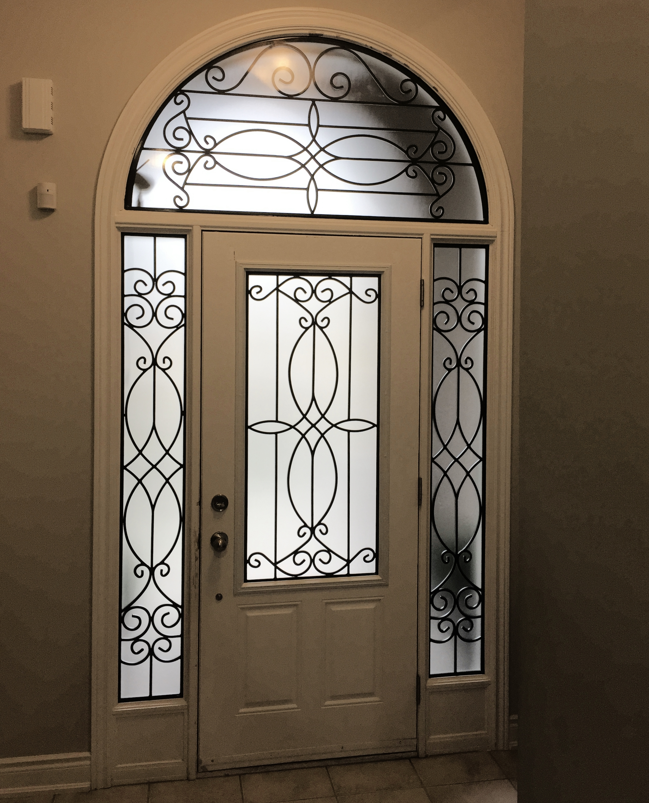 Blackburn-Wrought-Iron-Glass-Door-inserts-Barrie-Ontario