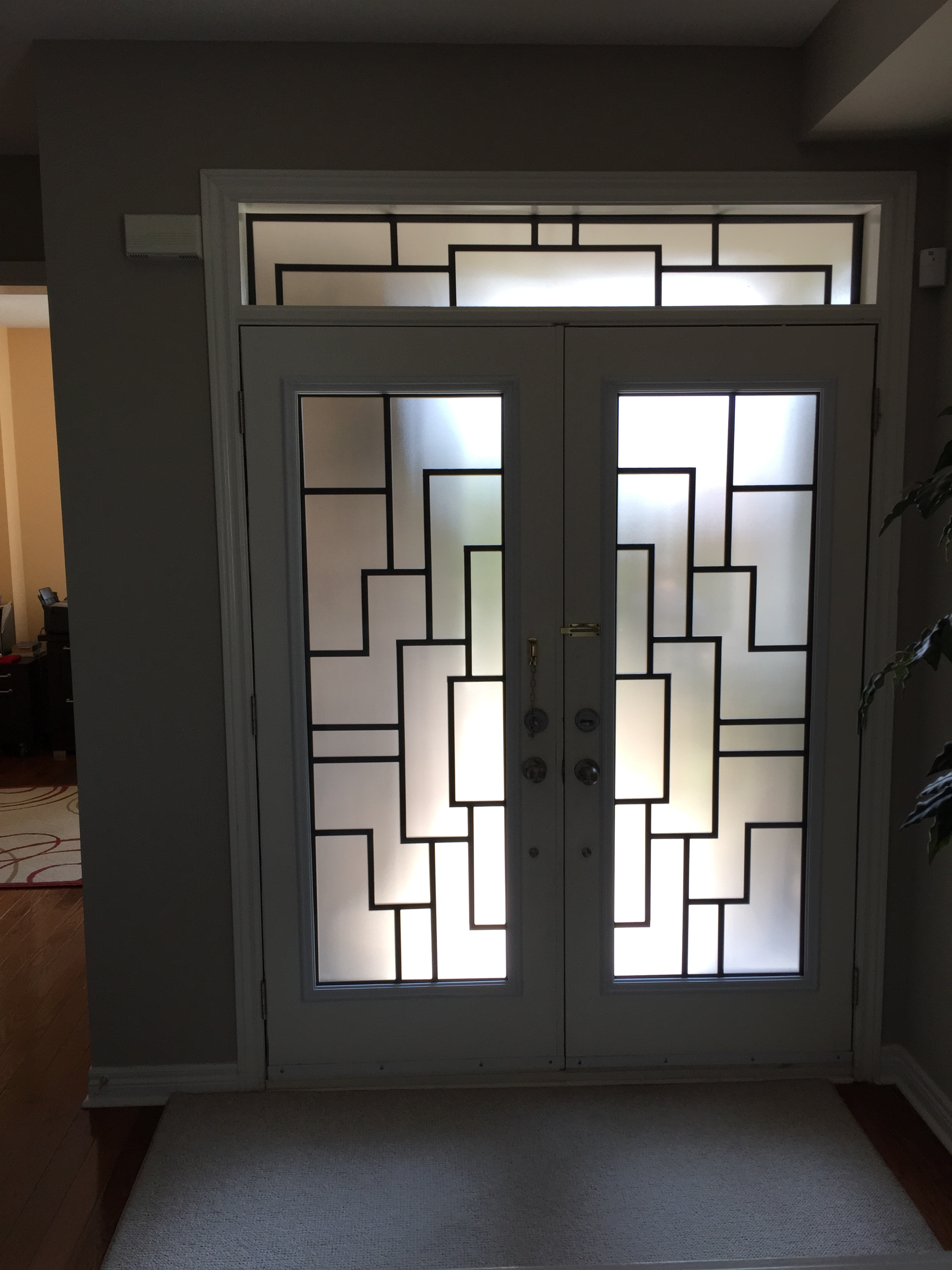 Malibu-Wrrought-Iron-Glass-Door-Inserts-Brampton-Ontario