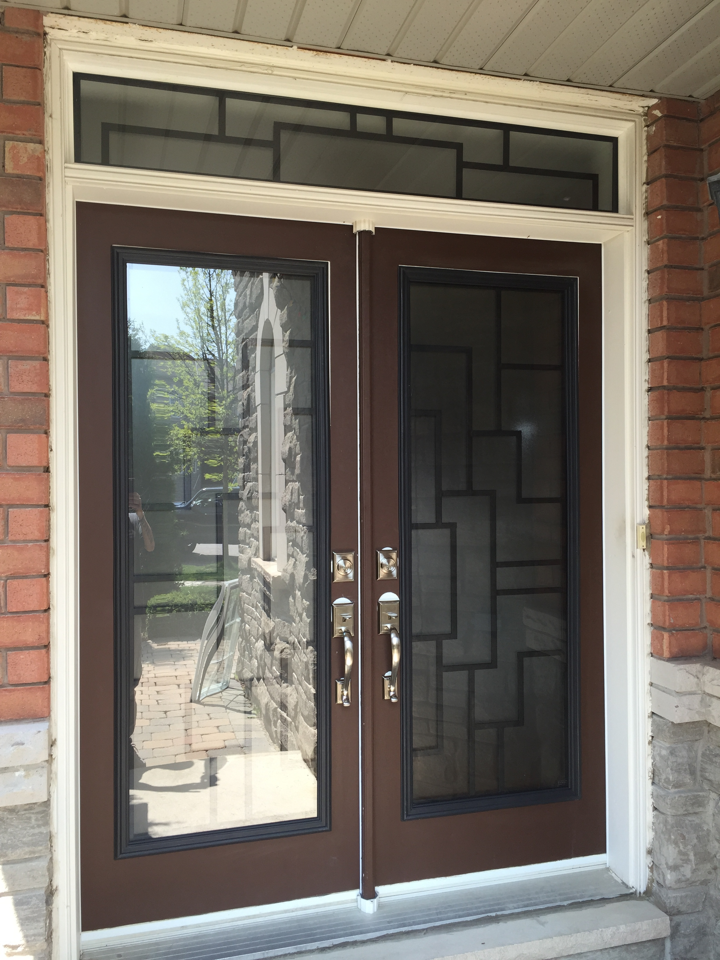 Malibu-Wrrought-Iron-Glass-Door-Inserts-Ajax-Ontario