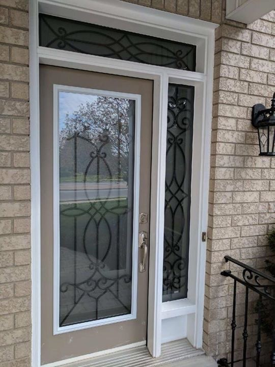 Blackburn-Wrought-Iron-Glass-Door-inserts-Newmarket-Ontario