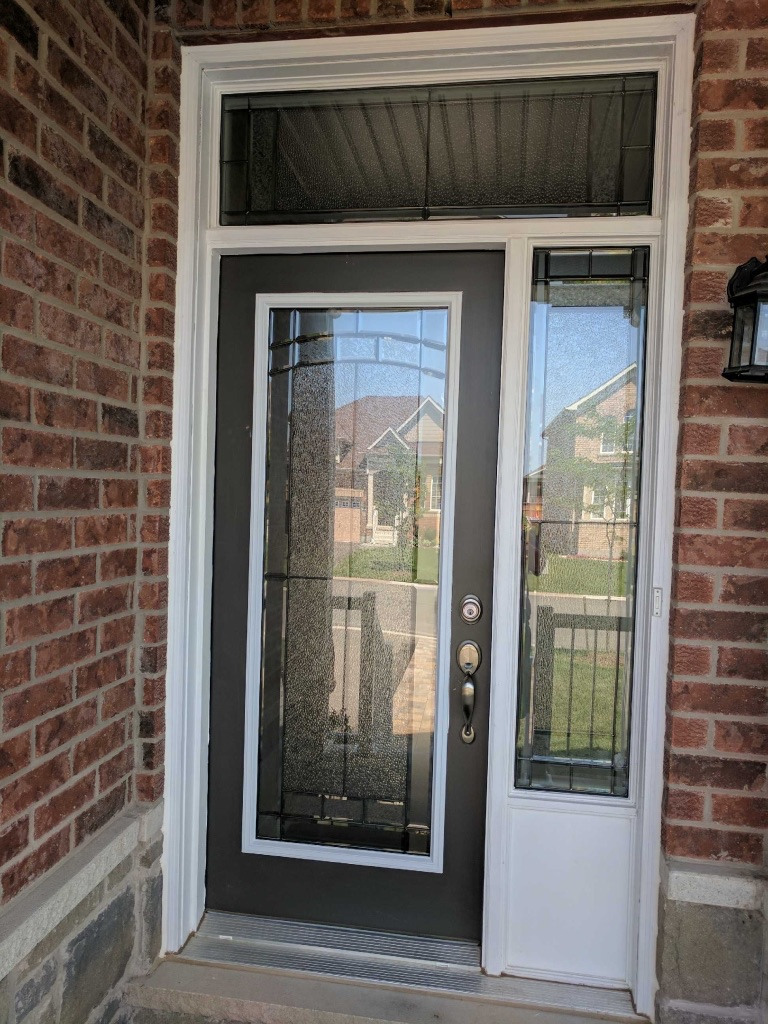 Ashbourne-Decorative-Glass-Door-inserts-Installtion-Niagara-falls-ontario