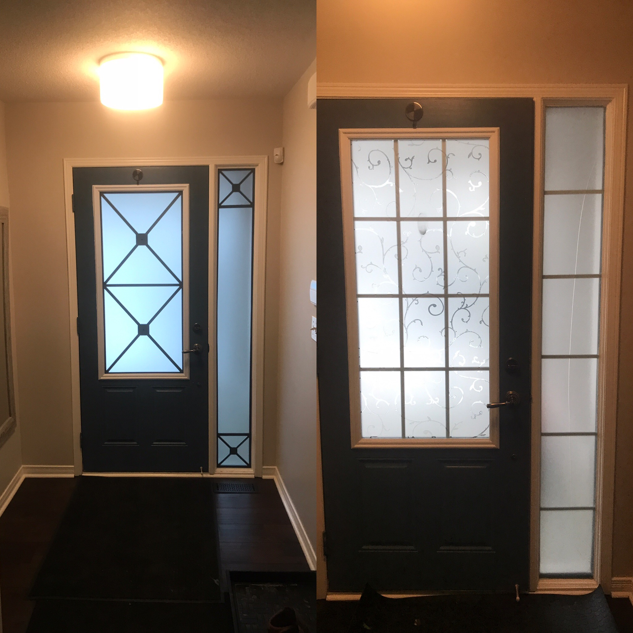 Wrought Iron & Decorative Glass Door Inserts Alliston, Ontario