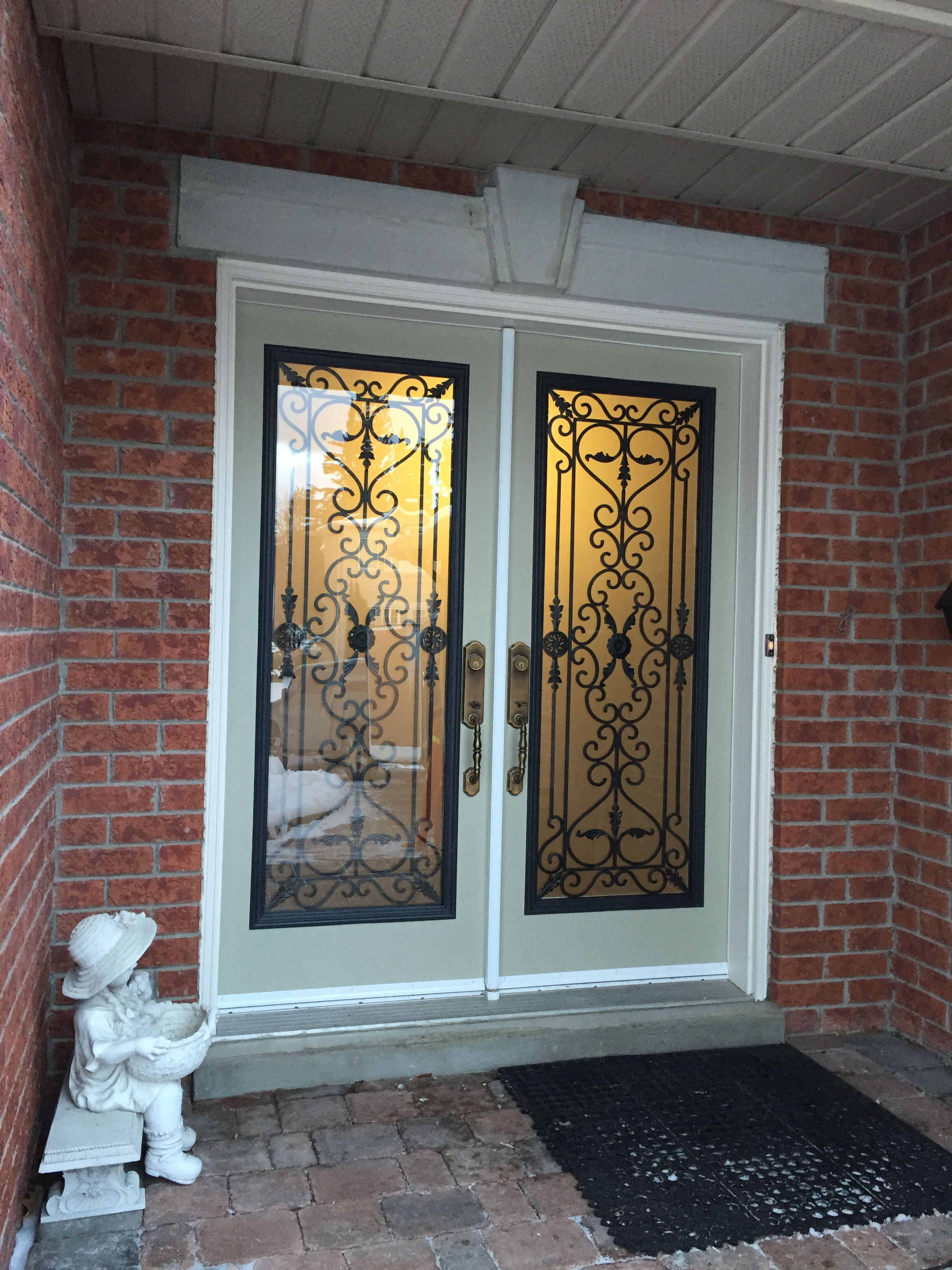 Old-Castle-Wrought-Iron-Glass-Door-Inserts-hamilton-Ontario