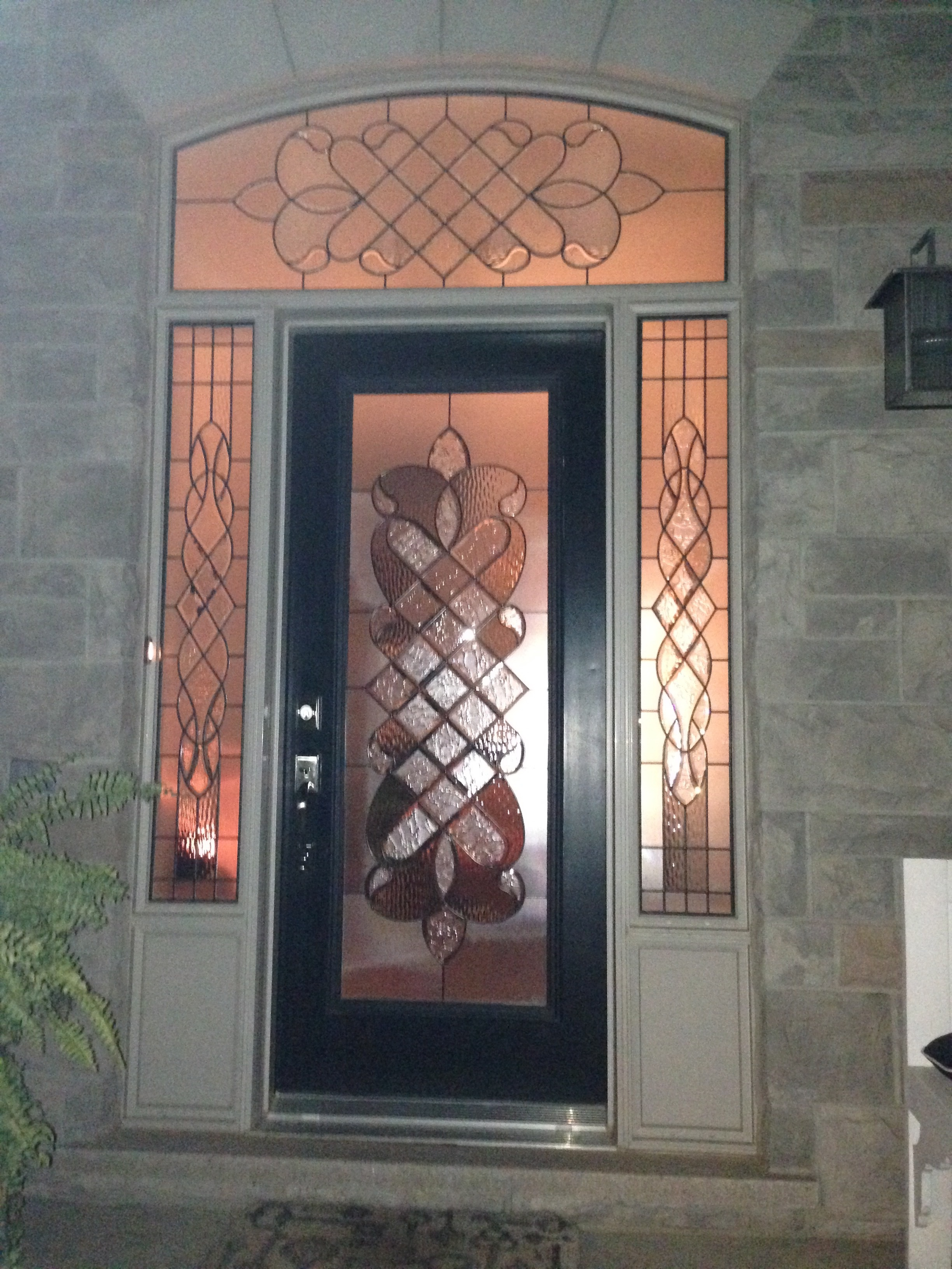 Middlesborough-Decorative-Glass-Door-inserts-Whitby-Ontario