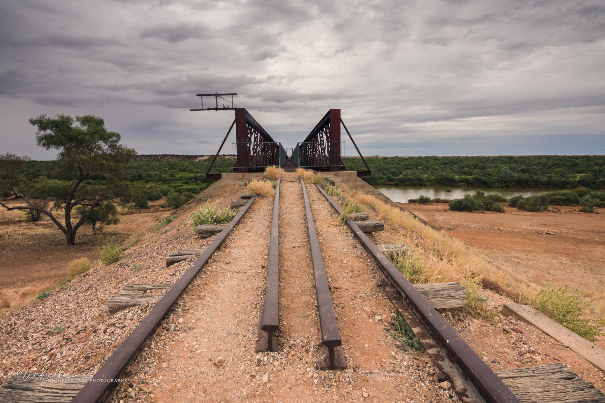 The Algebuckina Bridge, near the Oodnadatta Track, Outback South Australia