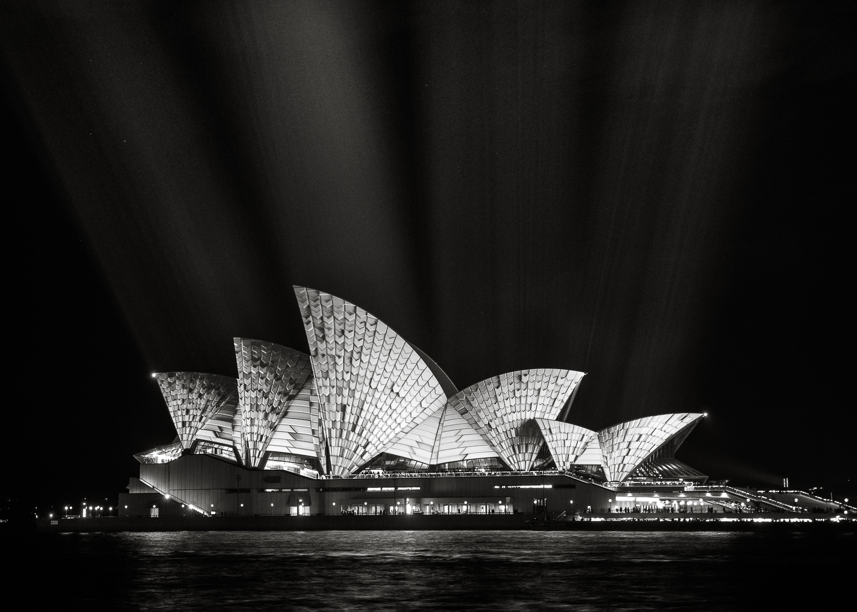 -The Sydney Opera House, Vivid Sydney-  Michelle Lake ©