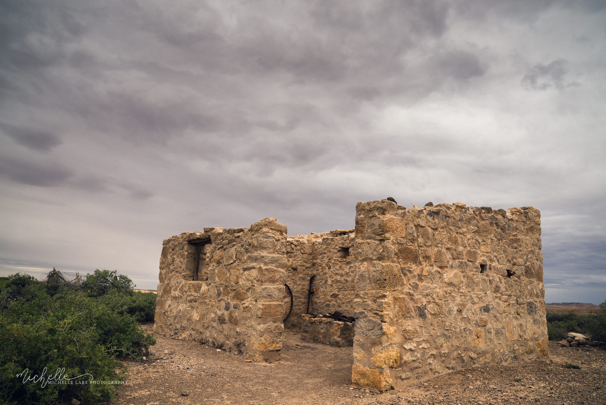 Ruins -Dalhousie Springs, Witjira National Park SA