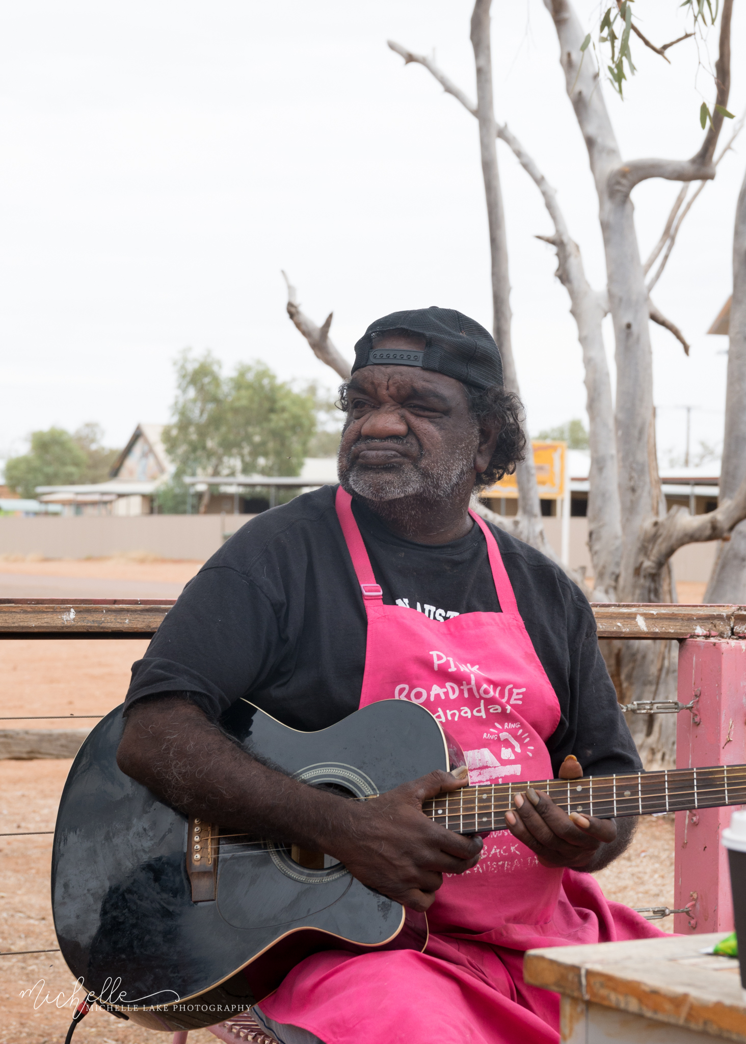 Geoffrey - The Pink Roadhouse, Oodnadatta SA