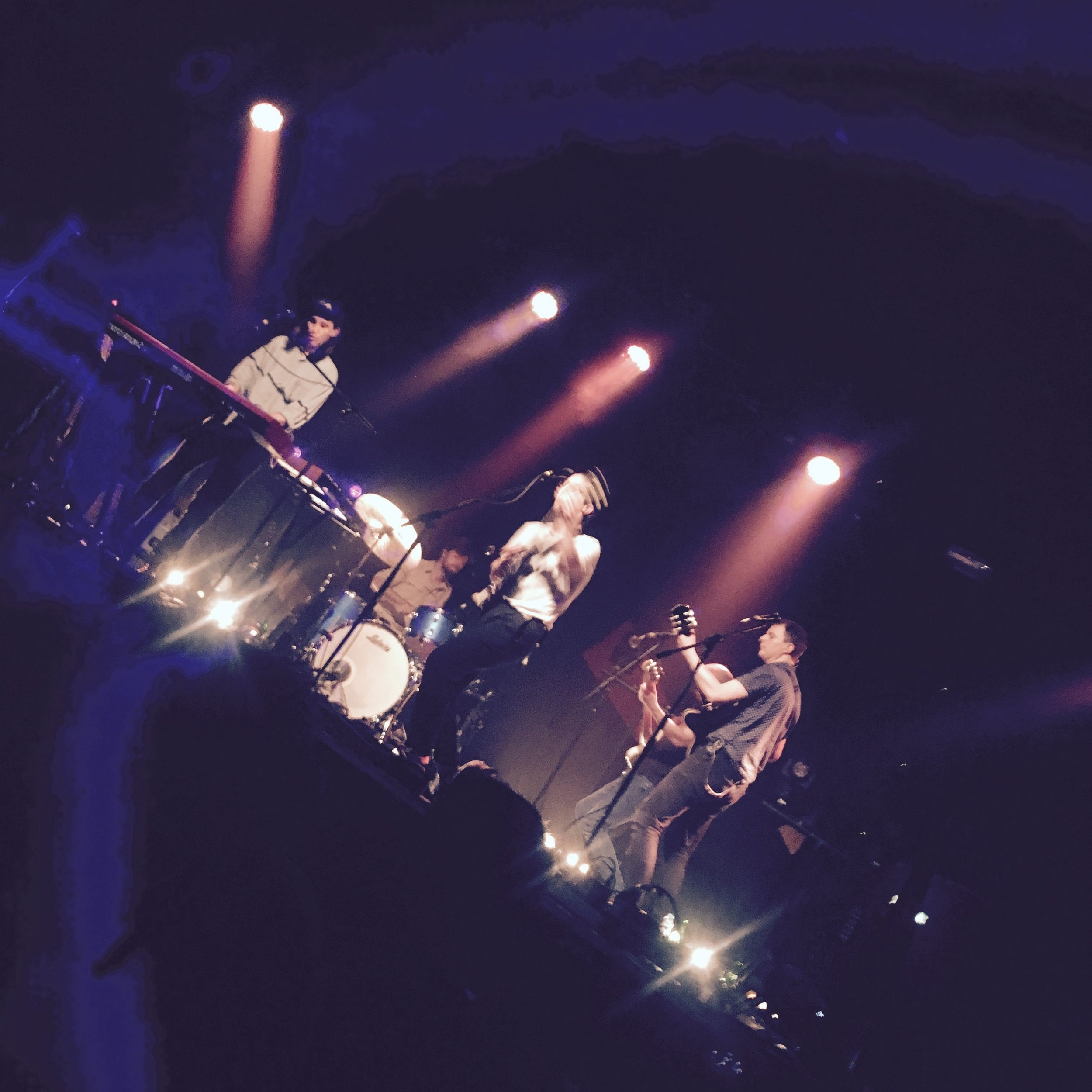 Take a bow! Dan Croll and band learning from their mistakes...