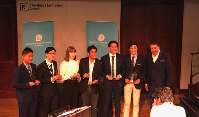 2019 Finalists from left to right: John Rafael Faustino (Philippines), Fan Yuehang (China), Greta Pangonyte (Lithuania), Yixian Chen (China), Justin Lai (Australia) and Ennio Patak (Spain).