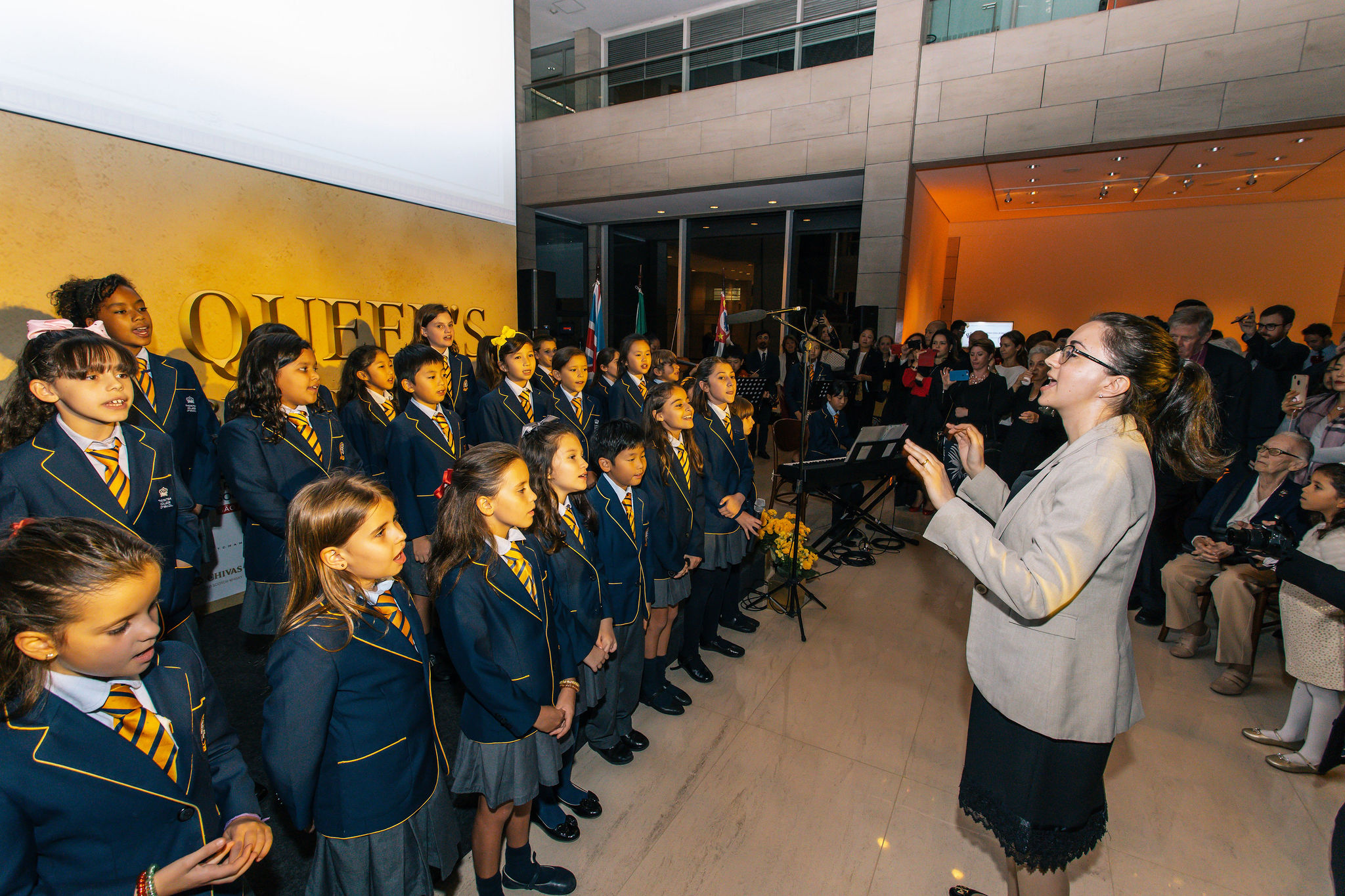British College of Brazil Choir conducted by Professor Silvia Bechara.