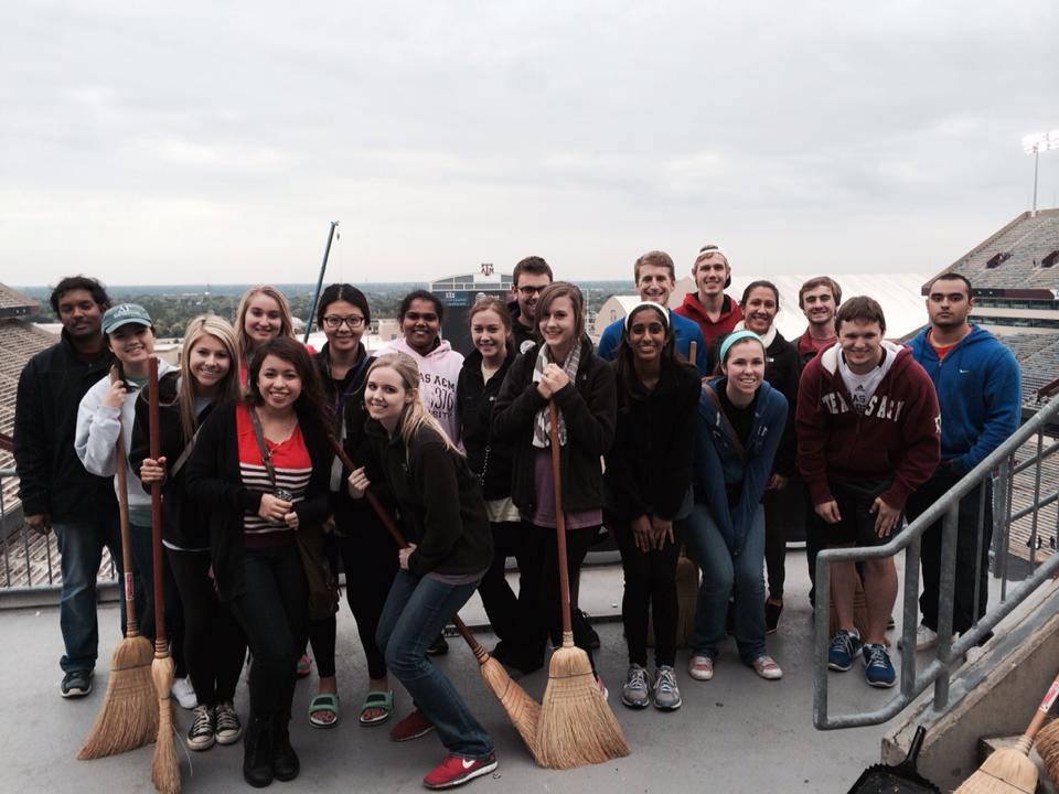 Service:  Kyle Field Cleanup