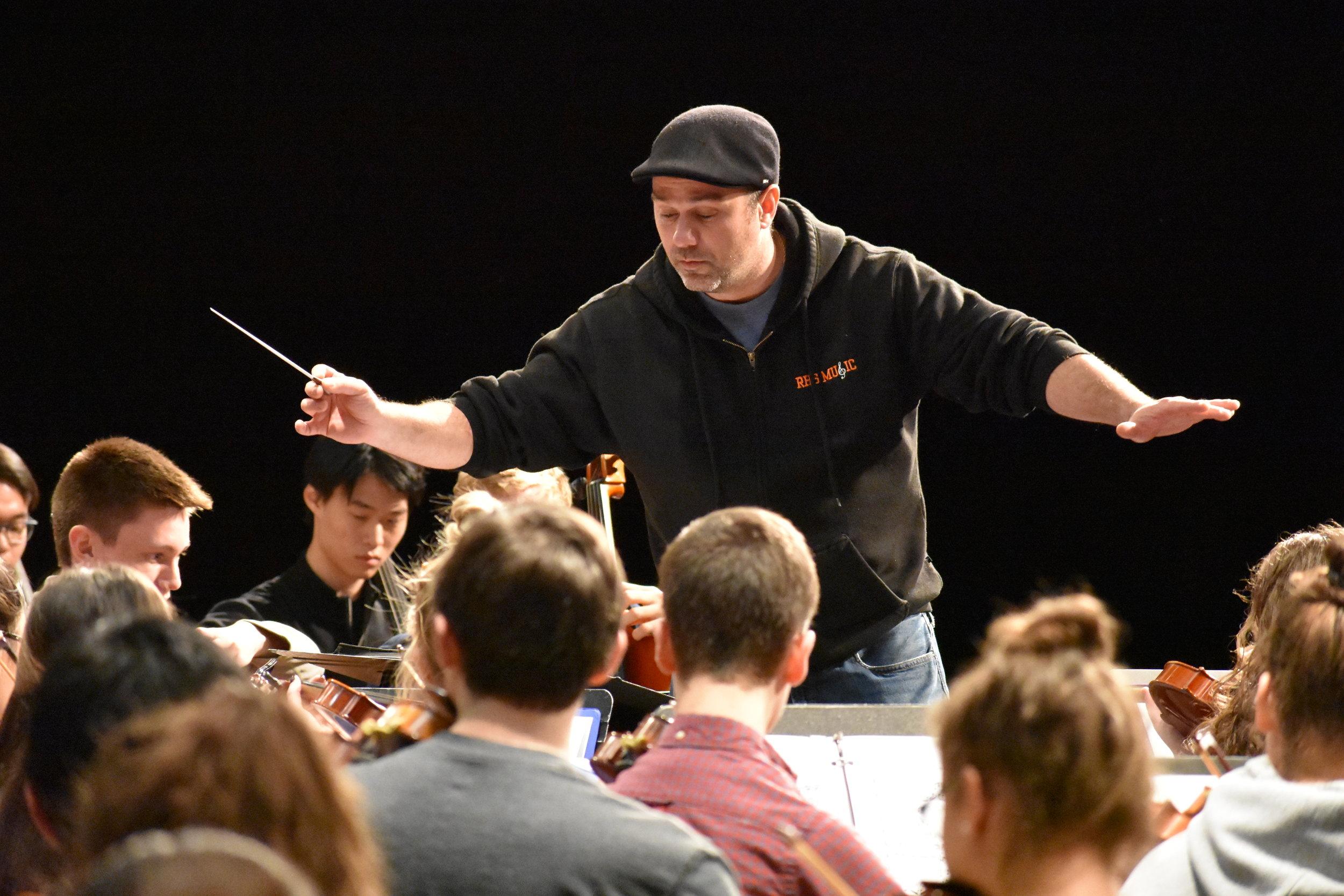 Michael McNamara, Orchestra Director, 2018