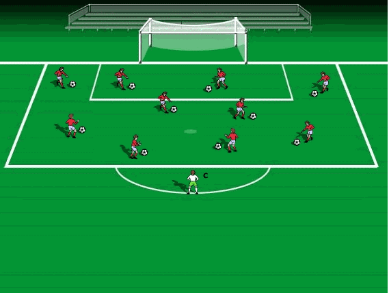 ball control and dribbling skills ideas