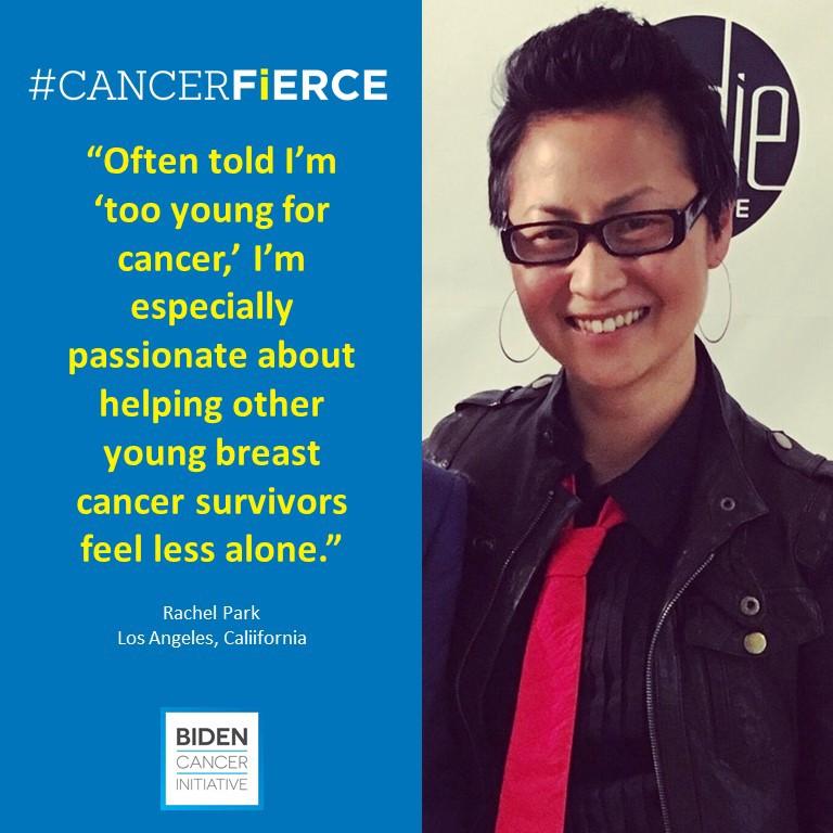 Biden Cancer Initiative: #cancerFIERCE