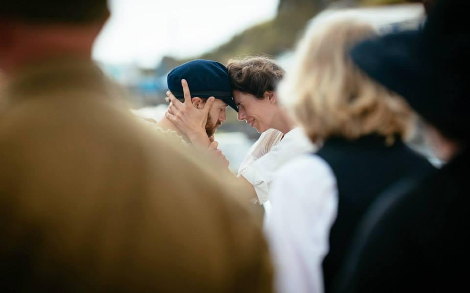 Harry Gooby & Katie Kirk. Photograph by Ian Kingsnorth 2014