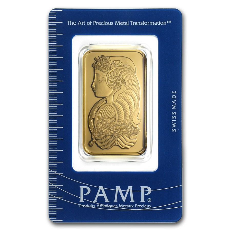 Pamp Swiss Gold Bar