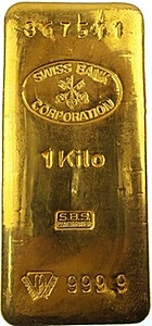 Gold Kilo Bar