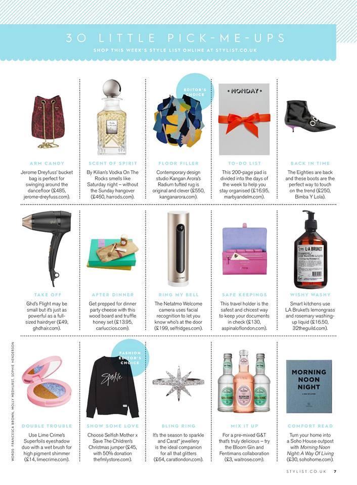 Stylist Magazine, November 2016