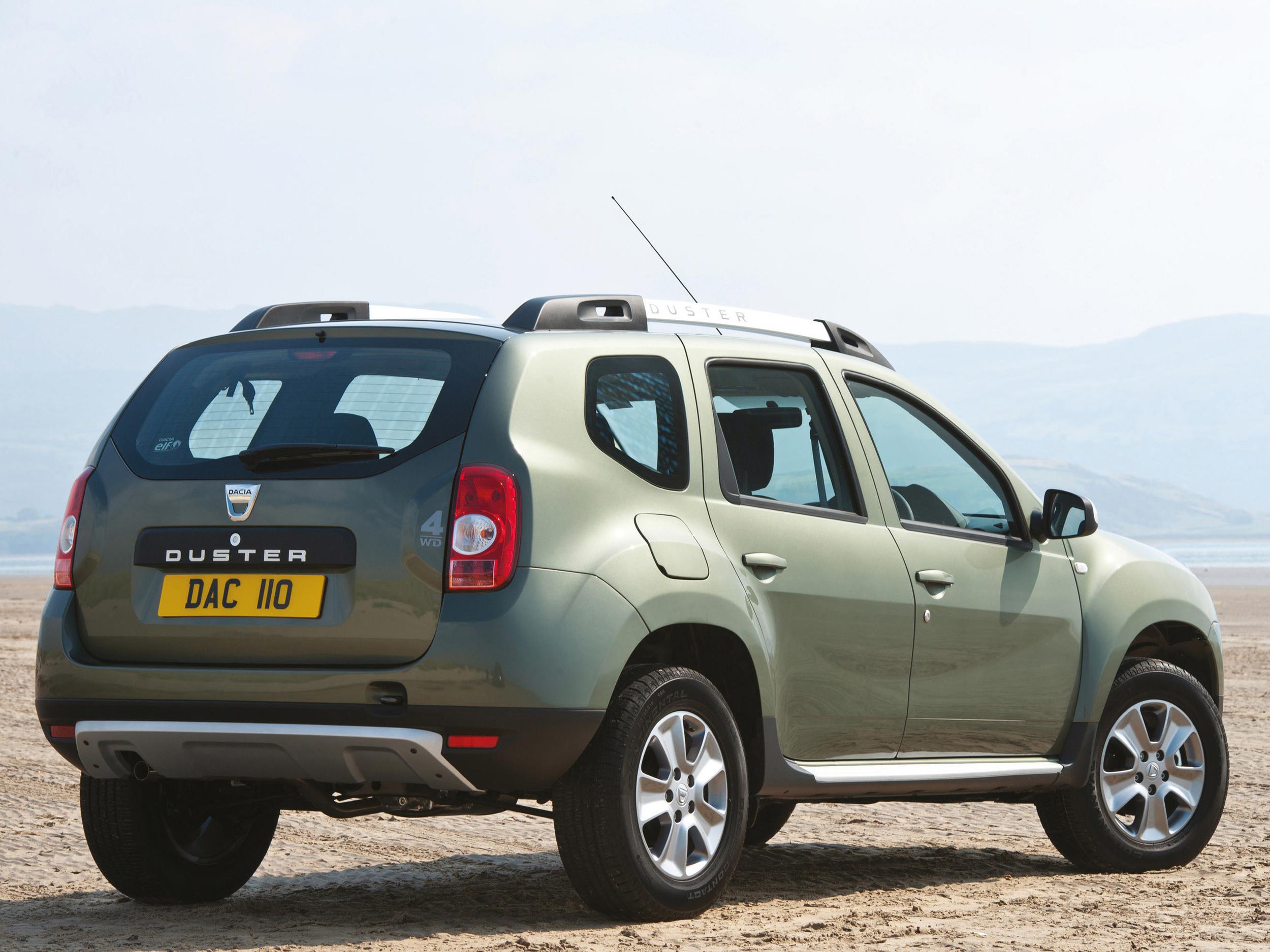 EU6 engines improve economy and emissions across Dacia Duster range