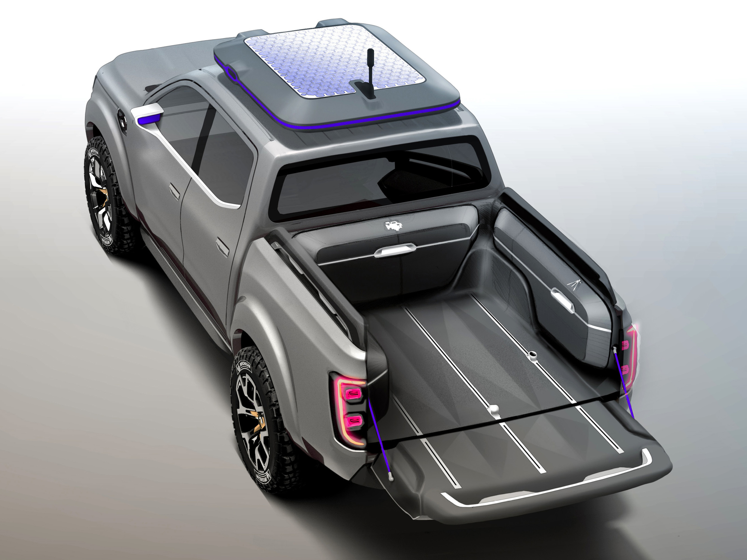 Renault unveils ALASKAN pick-up concept