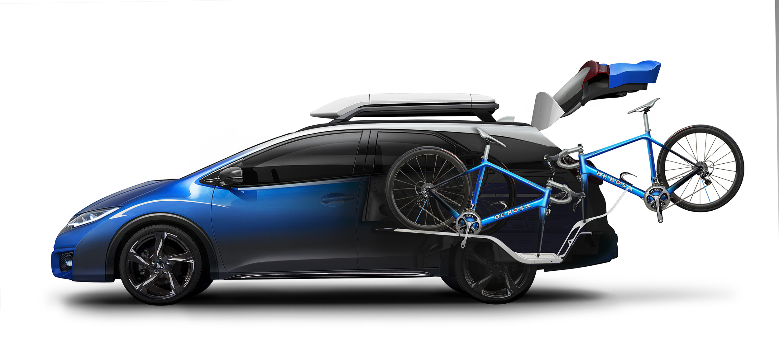 Honda unveils new Civic Tourer Active Life concept