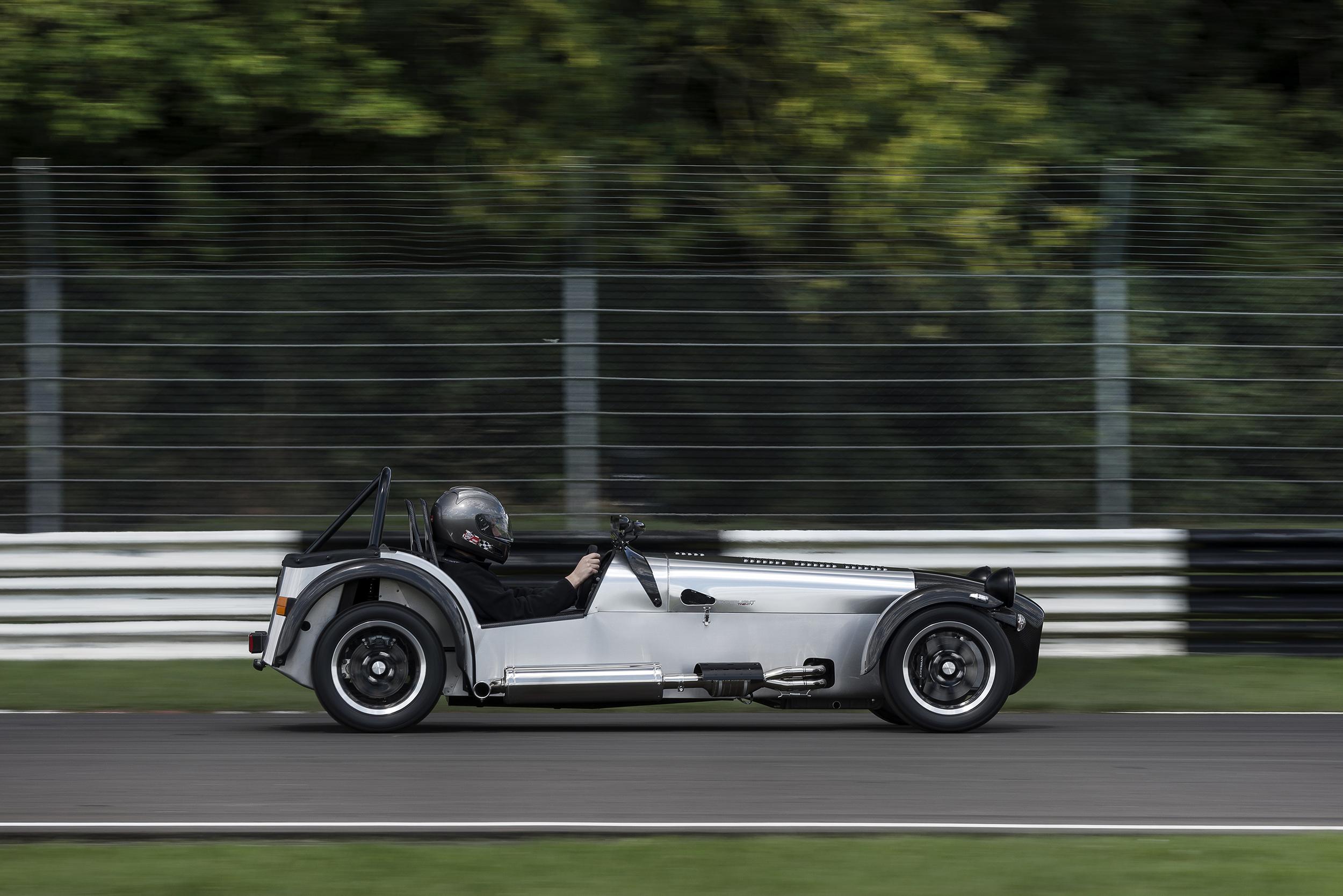 British-built cars line-up for Frankfurt send-off