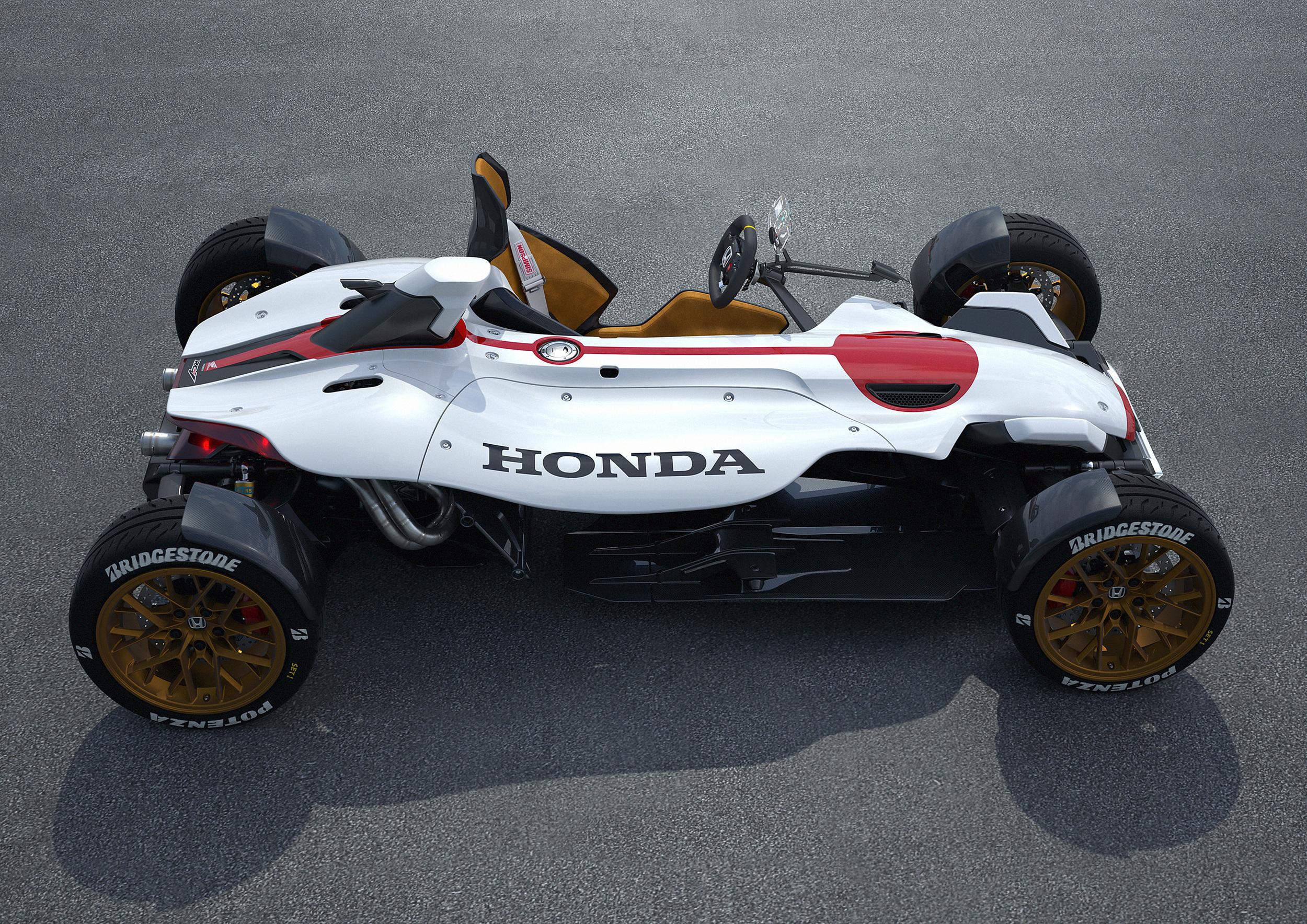 Honda unveils Project 2&4 concept
