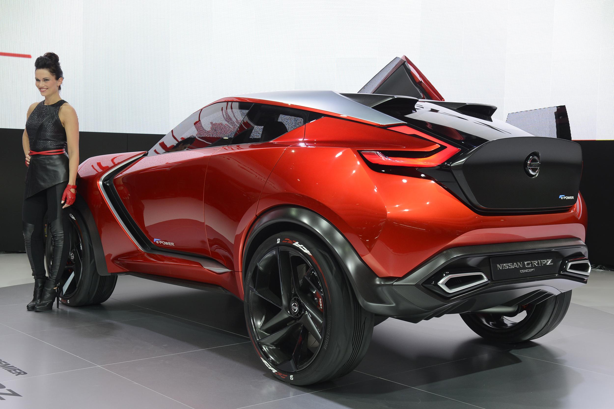 Nissan reveals new Gripz concept in Frankfurt