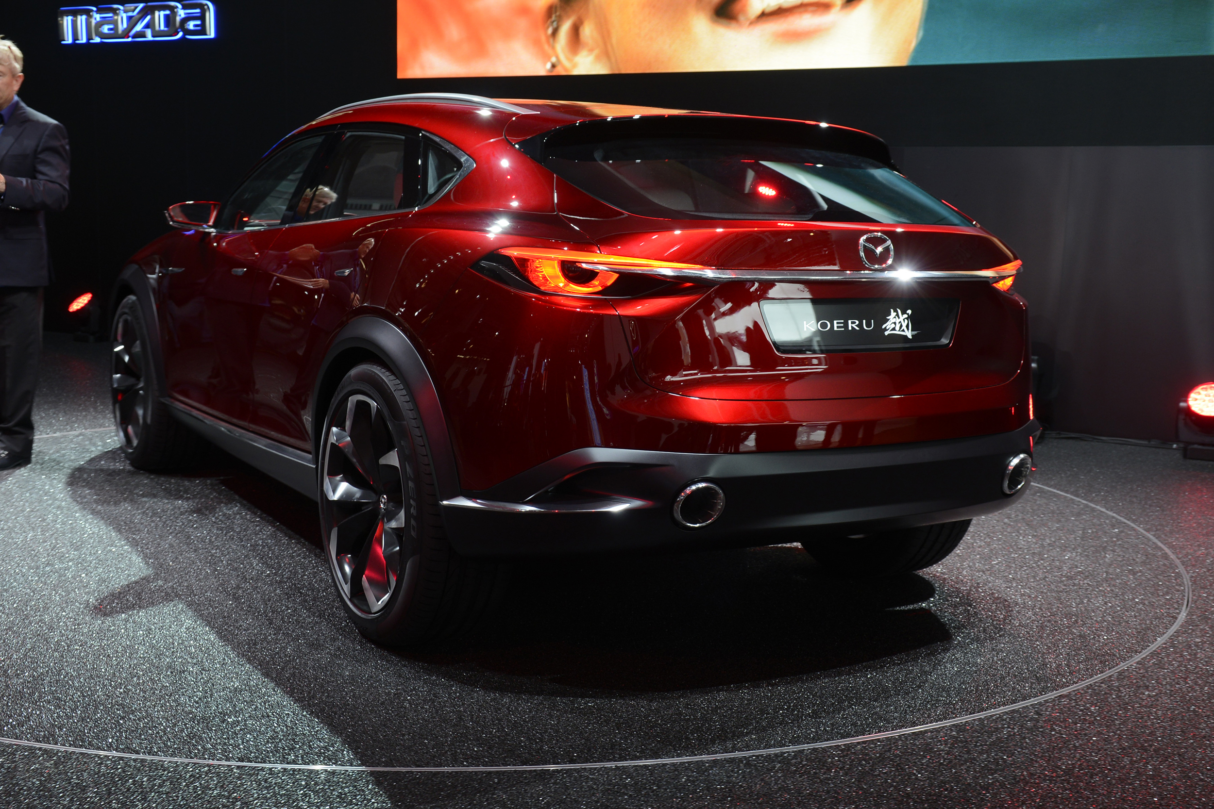 Mazda pulls covers off Koeru concept