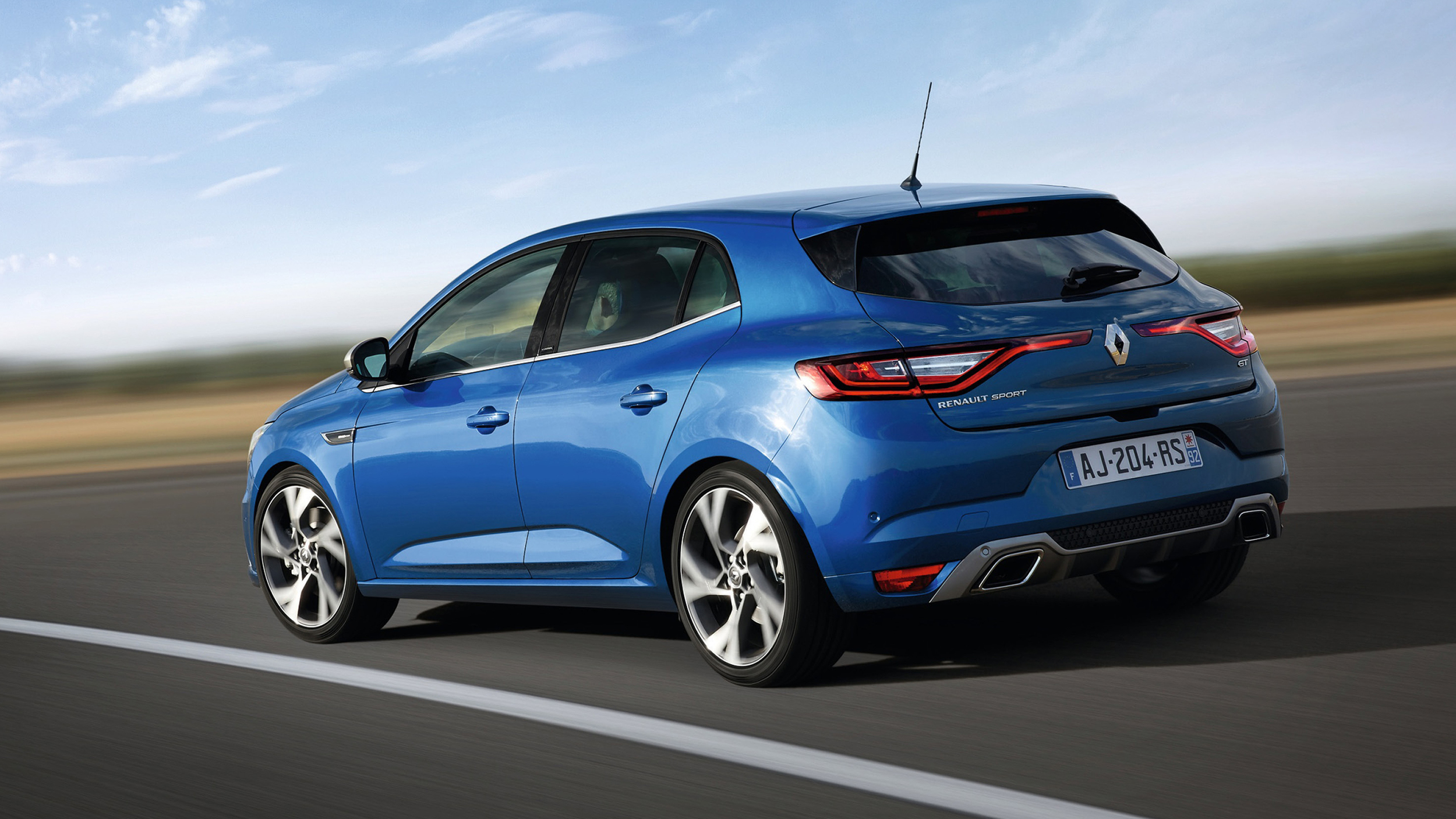 Renault has shown its all-new Megane in Frankfurt.