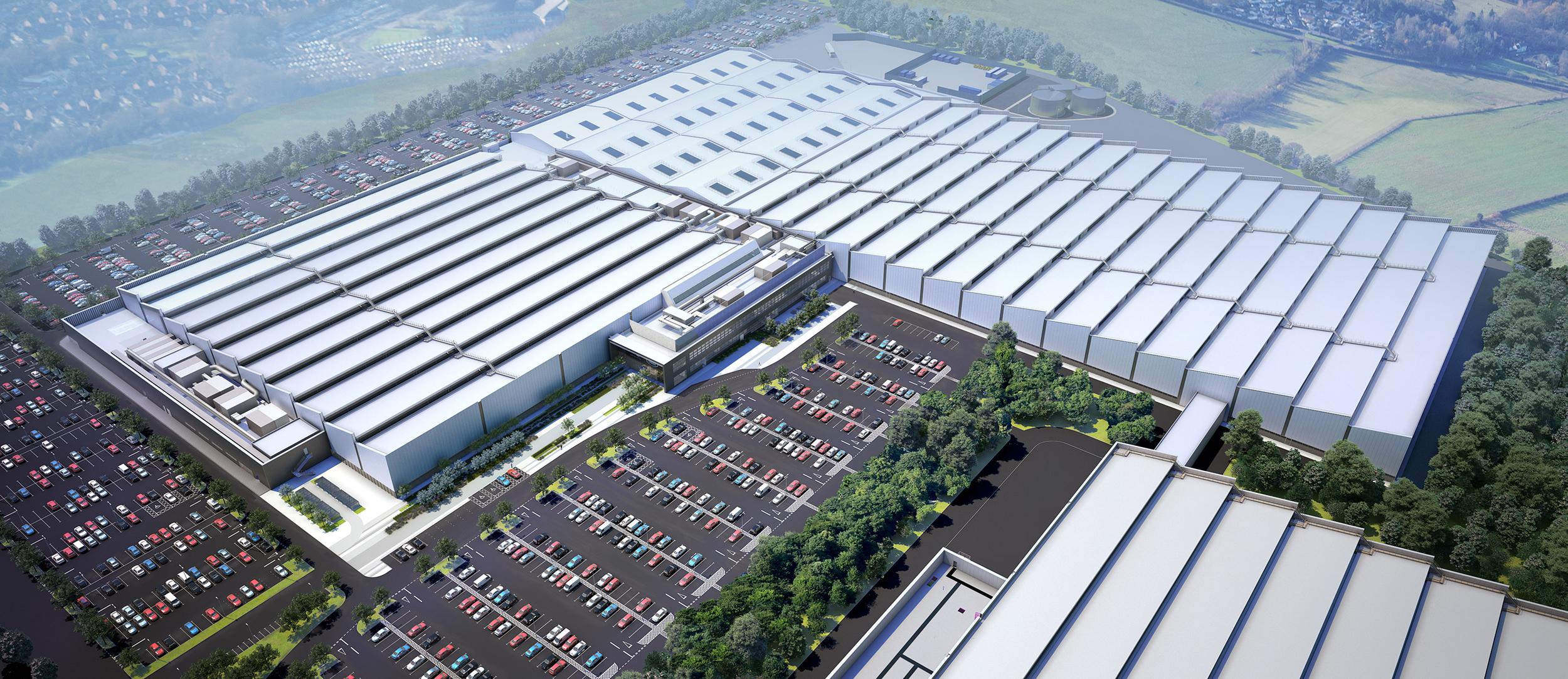 Jaguar Land Rover to double Engine plant size