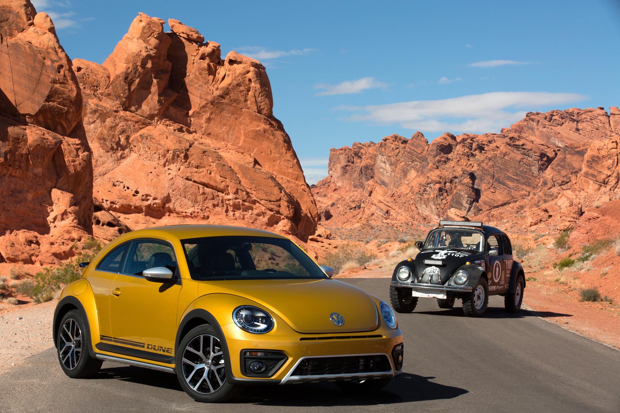 Volkswagen Beetle Dune set for world debut in LA