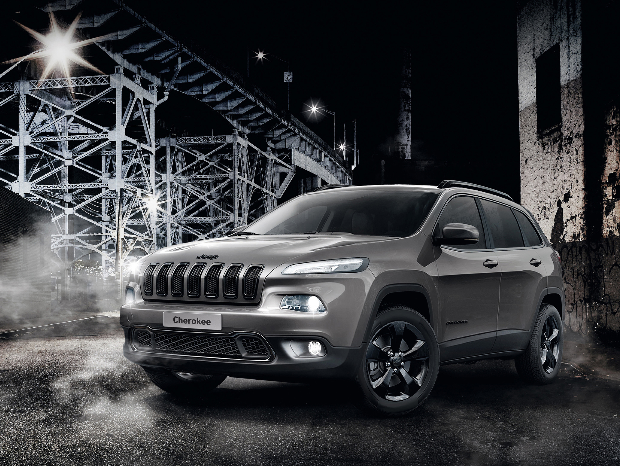 New Jeep 'Night Eagle' Cherokee