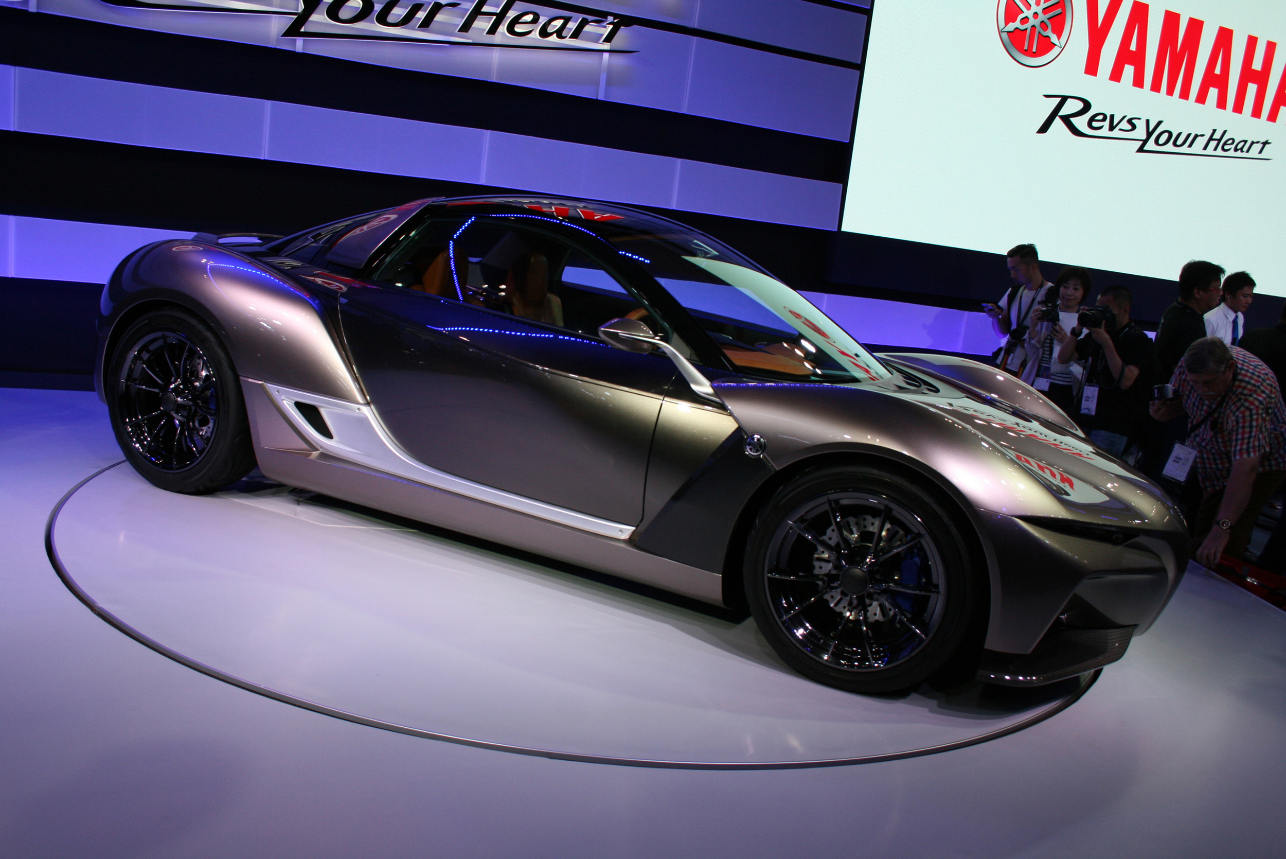 Yamaha reveals new sports car in Tokyo