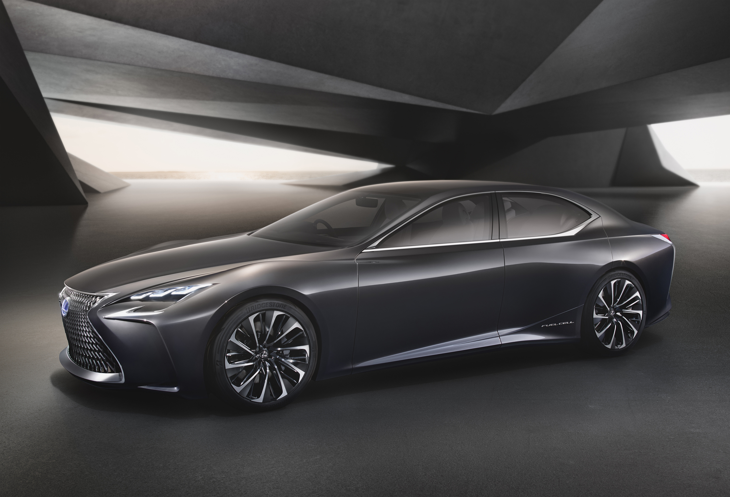 Lexus LF-FC concept revealed in Tokyo