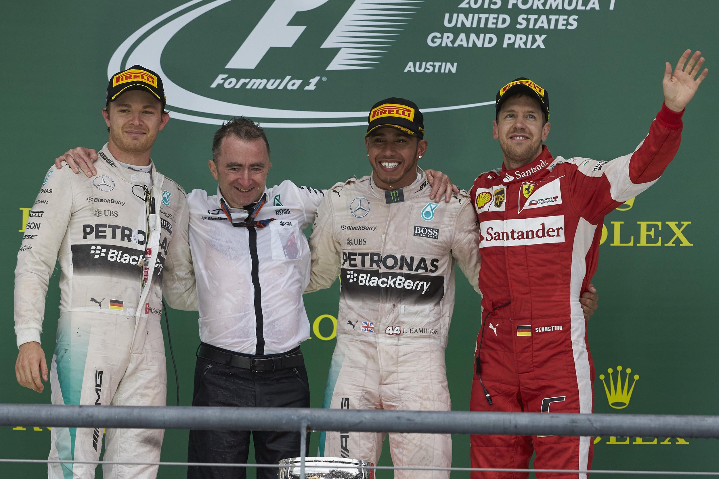 Lewis Hamilton wins third F1 World Championship