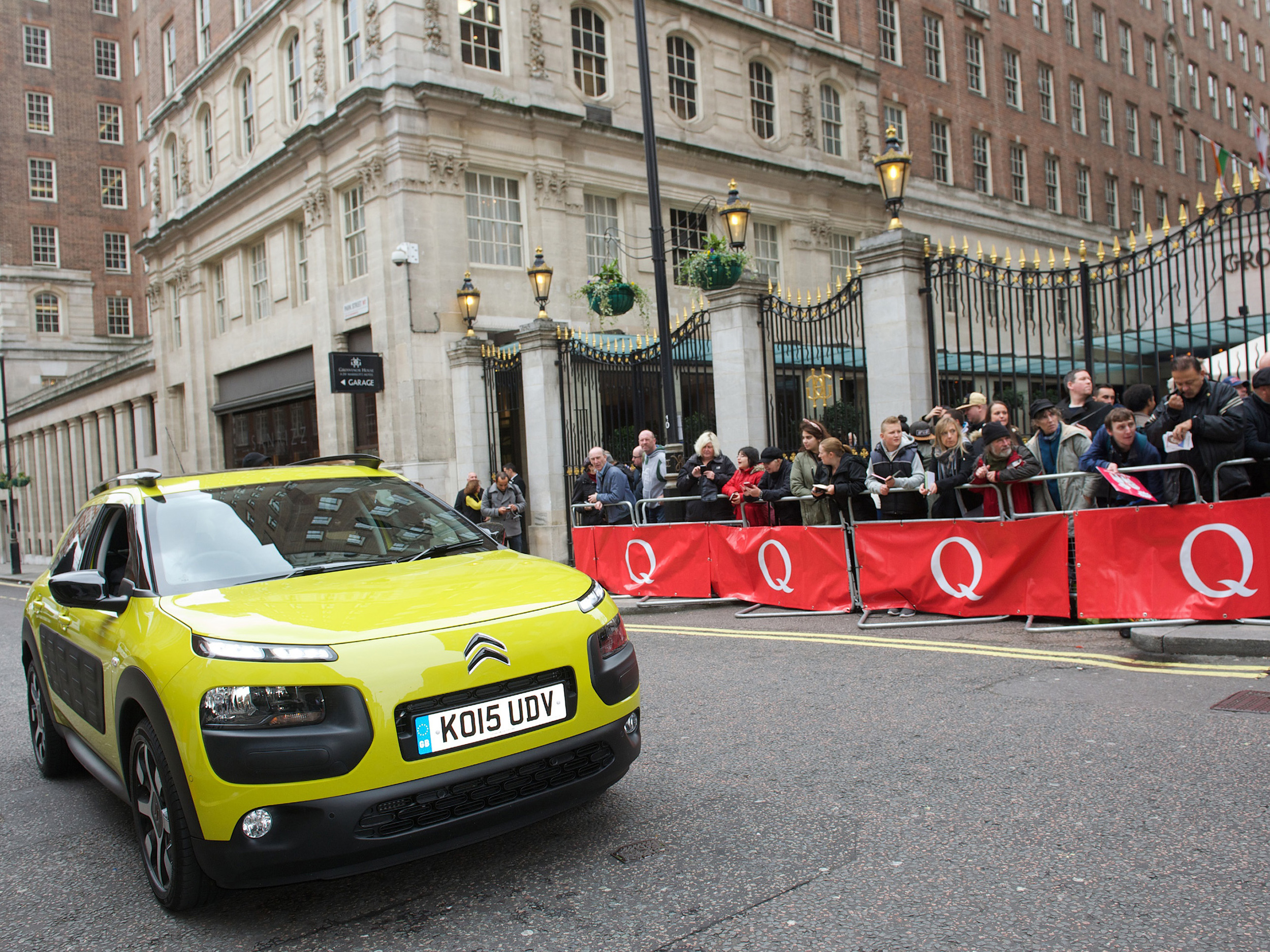 Citroen C4 Cactus Chauffeurs at Q Awards