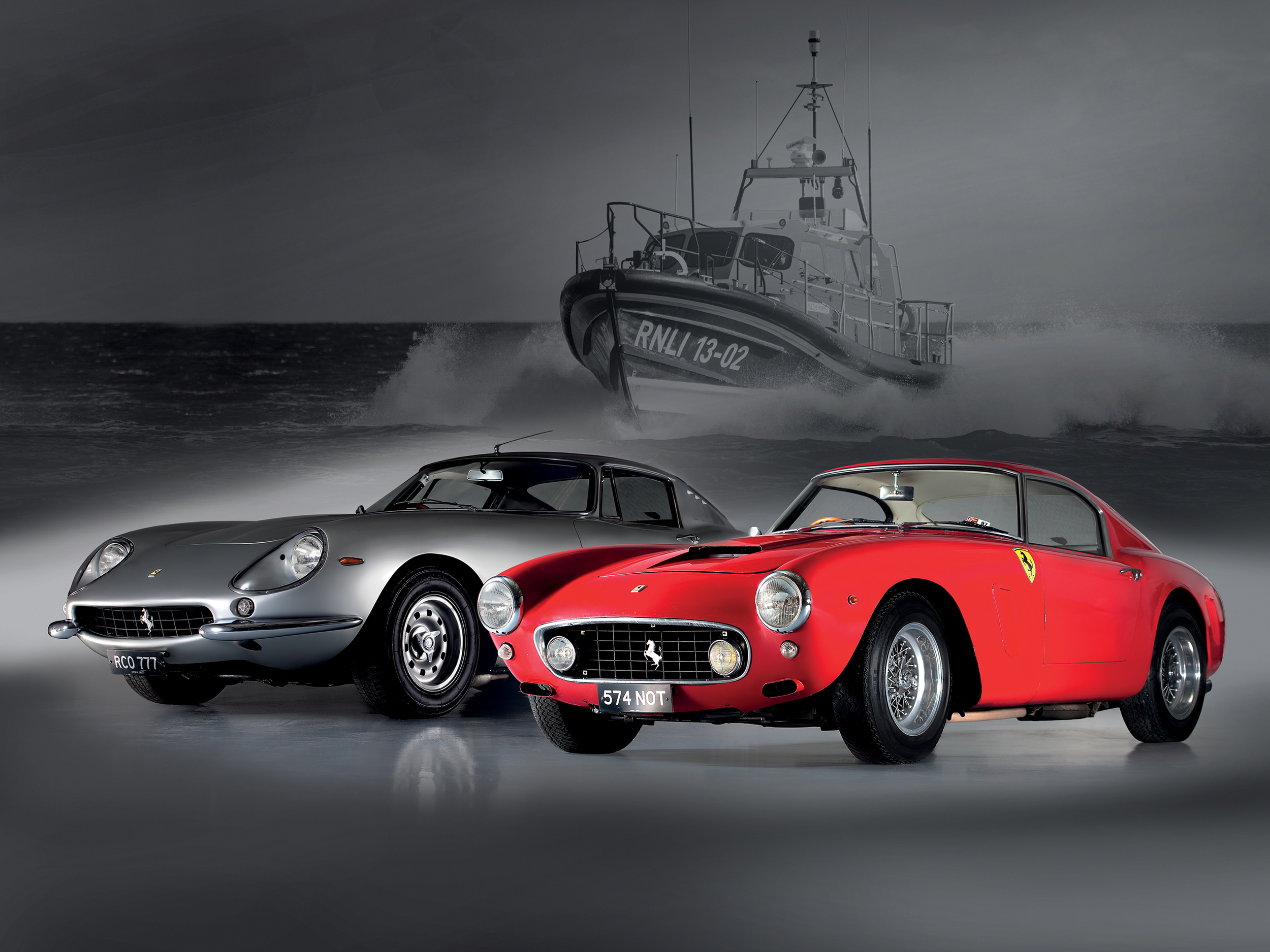 Businessman leaves £10m Ferraris to RNLI
