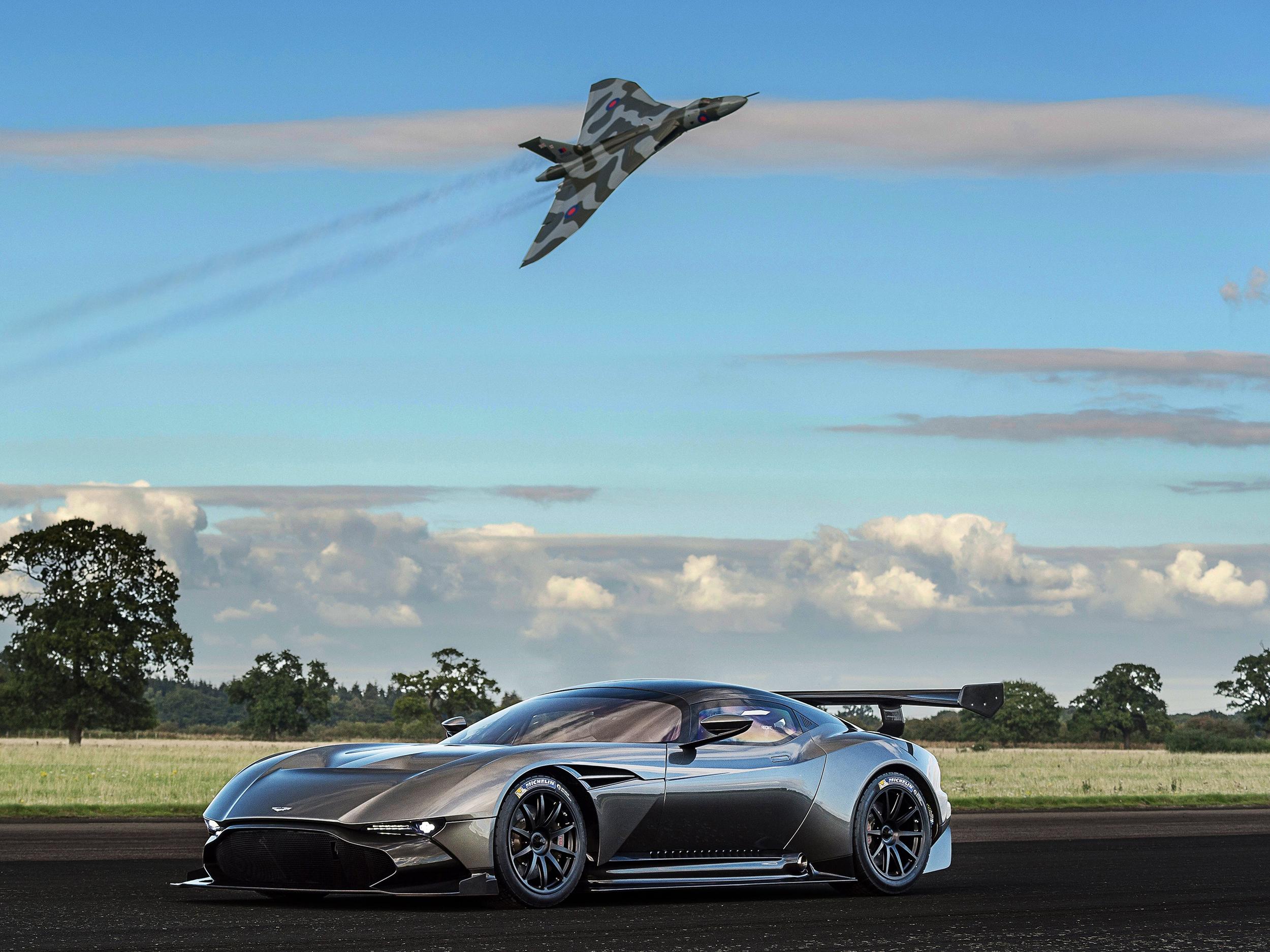 Aston Martin Vulcan meets Avro Vulcan
